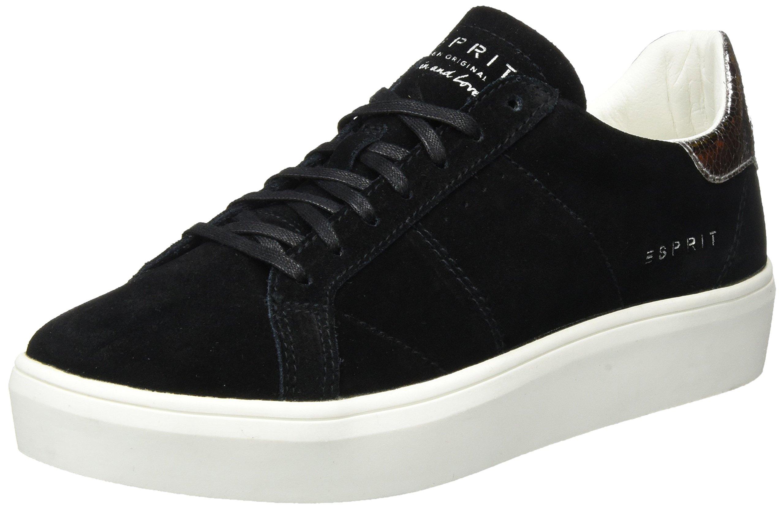 LuSneakers Elda Basses Eu FemmeNoirblack39 Esprit BdroeCx
