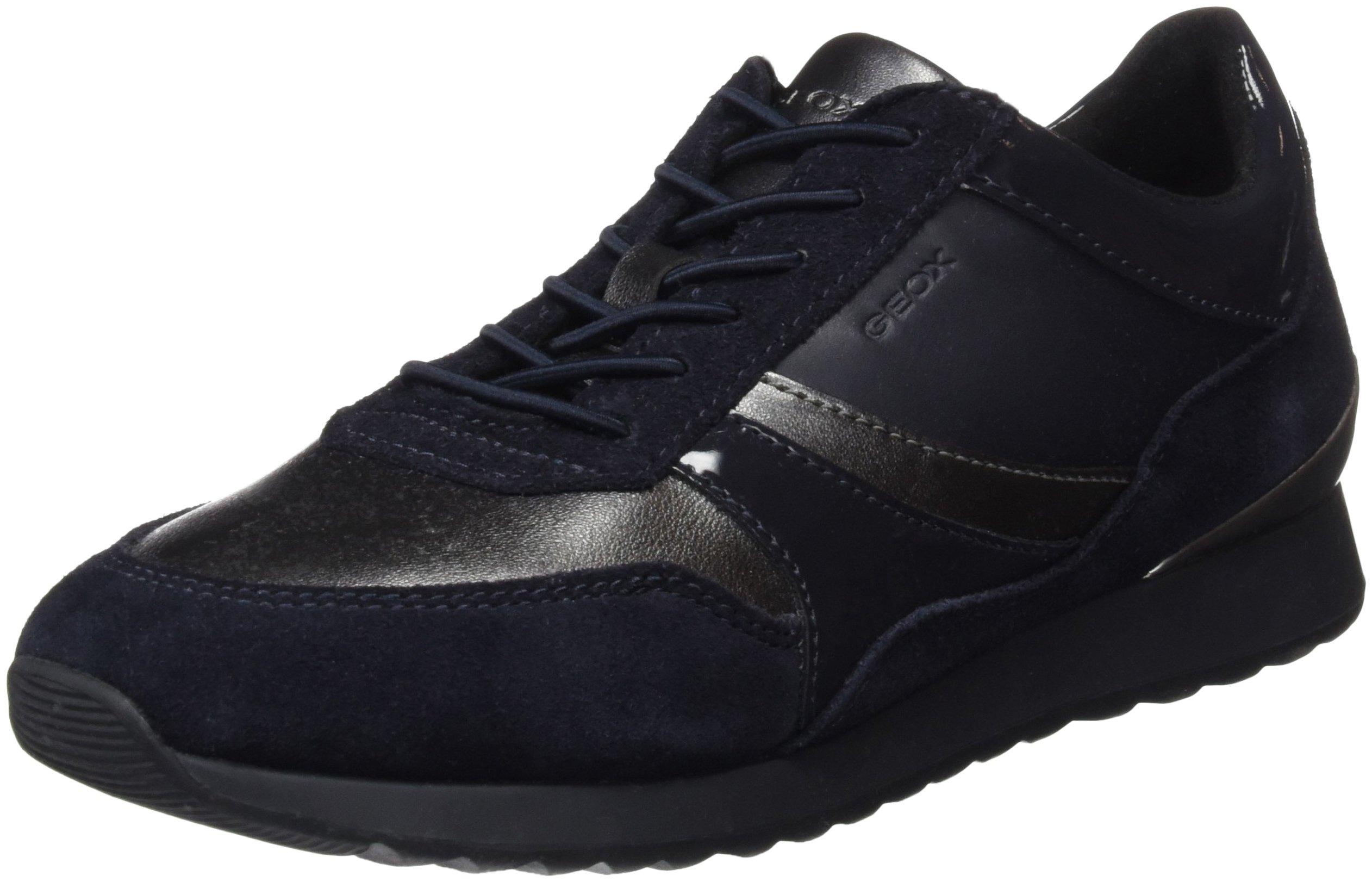 Geox D navy40 ESneakers Deynna Grey FemmeGrisdk Eu Basses sChrdtQ