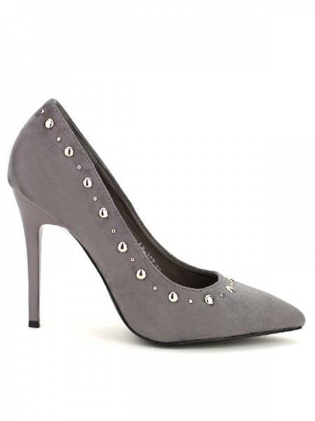 Escarpin Gris Gris Escarpin C'm FashionCendriyon sQhrtd
