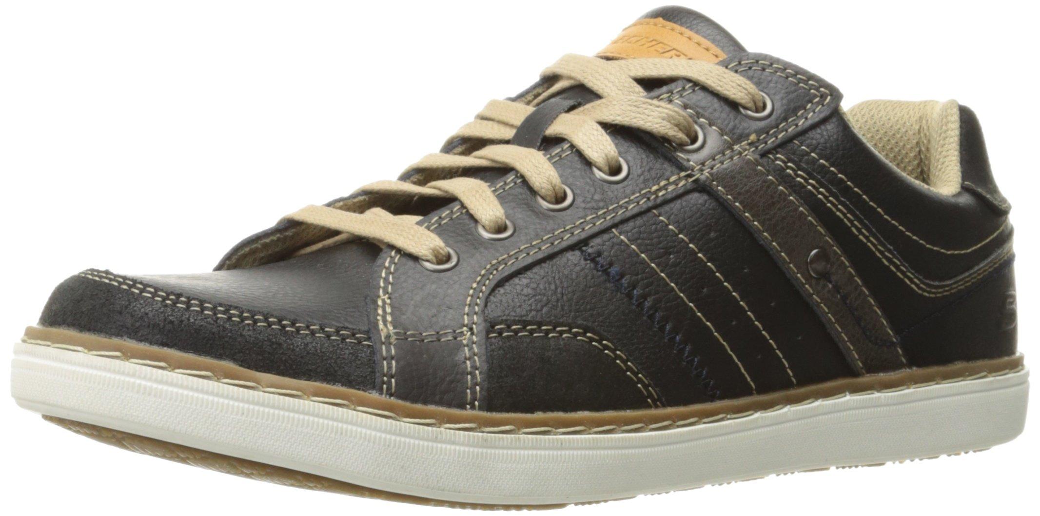 Skechers mesten Lanson HommeNoirblack41 Chaussures Eu Pour Bateau rshtCQd