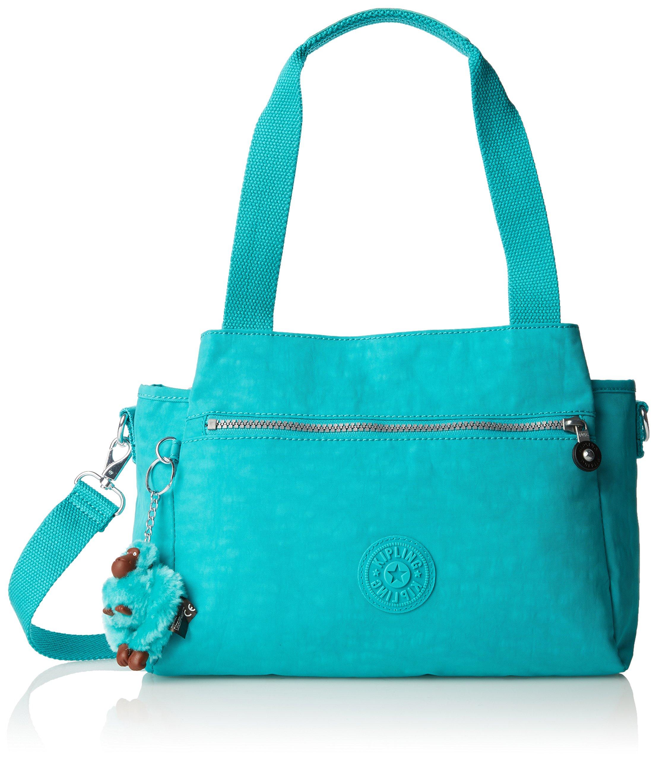 Kipling Portés Unique ElysiaSacs Épaule TurquoiseTaille FemmeTurquoisecool DYEeH2W9bI