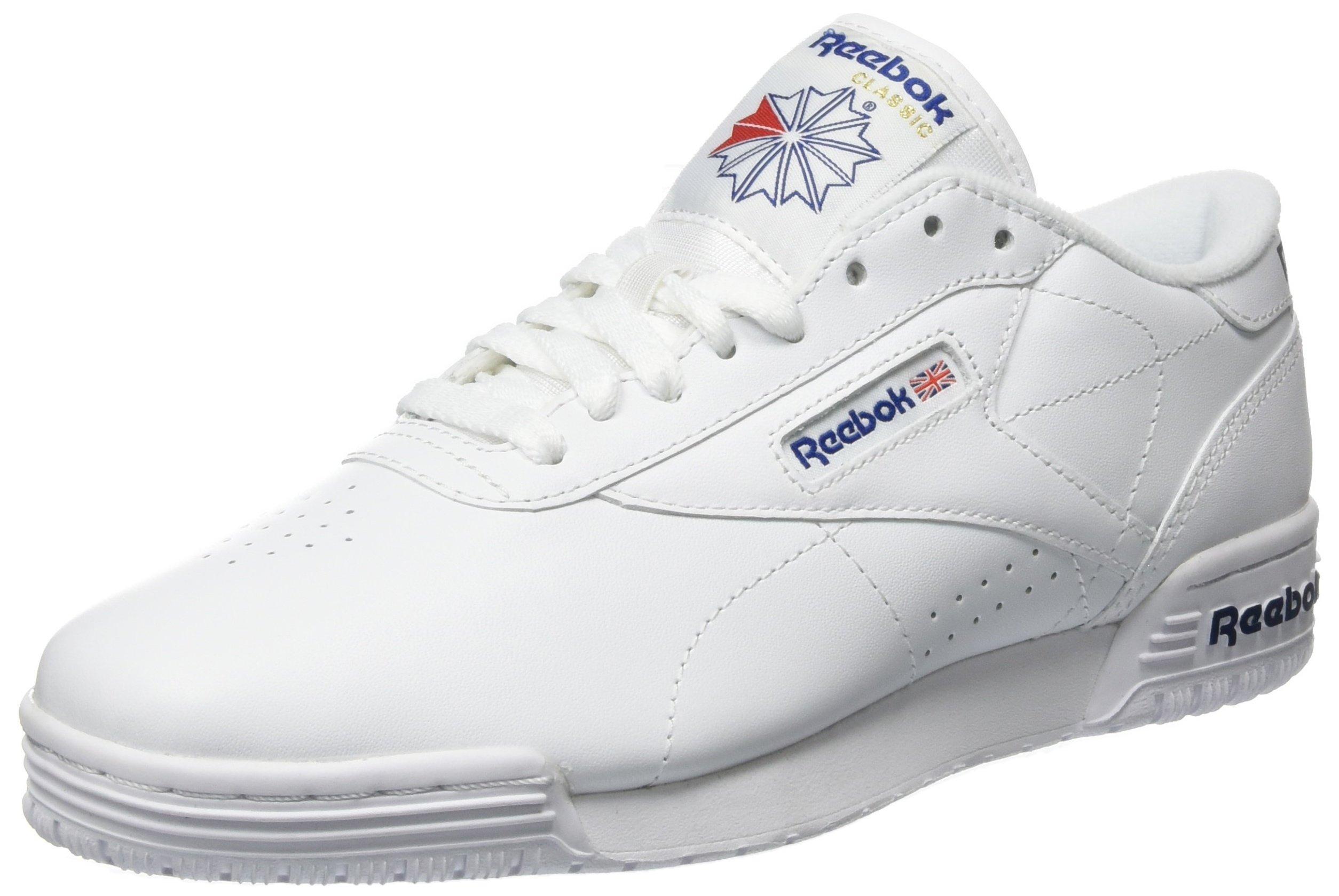 5 Reebok 00036 Lo Clean Blue GarçonBlancint Exofit LogoChaussures white Royal Fitness De Eu fIb7yvgY6m