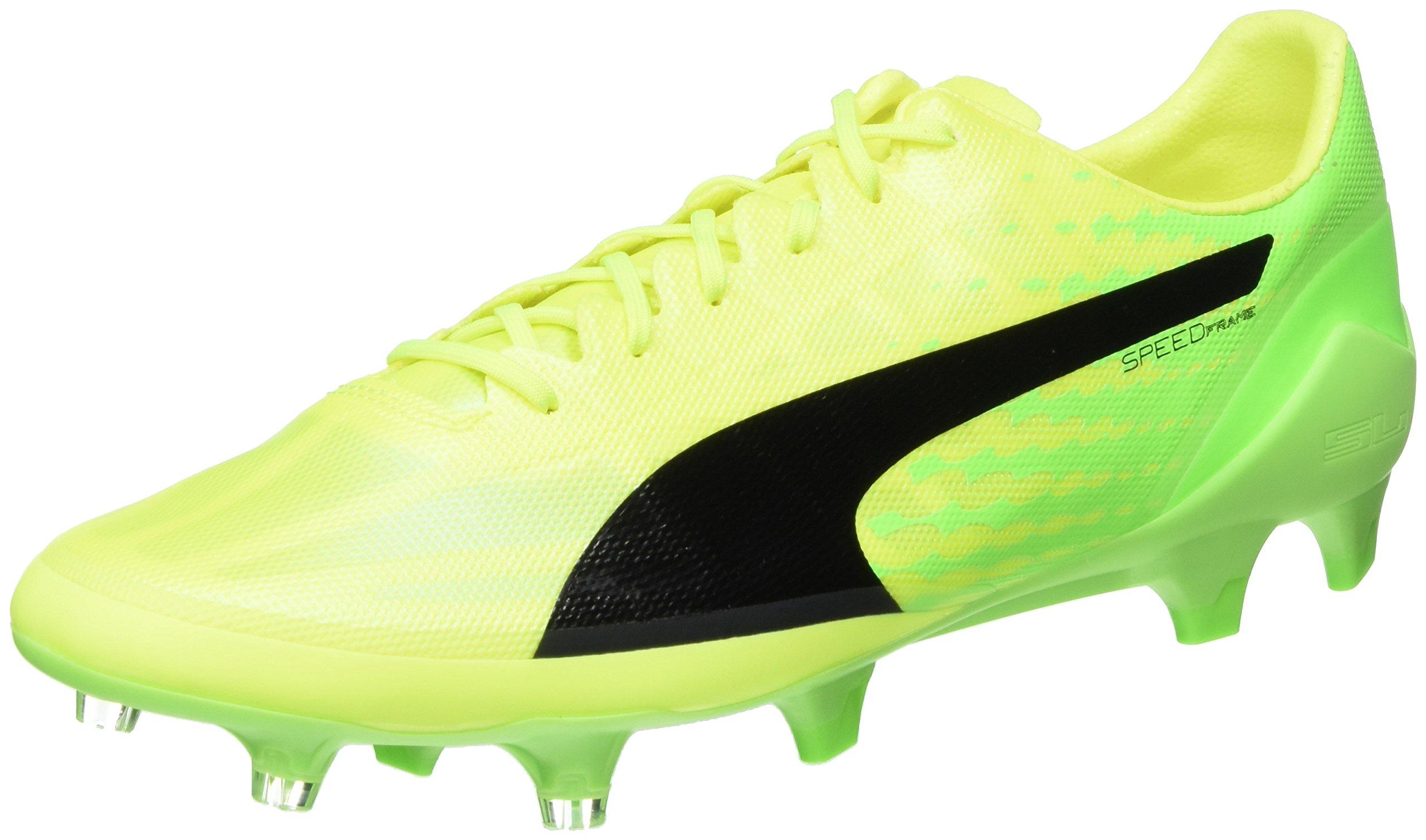 Gecko Yellow Puma FgChaussures Sl Evospeed Eu 0145 De HommeJaunesafety Black 17 green Football ybf67vYg