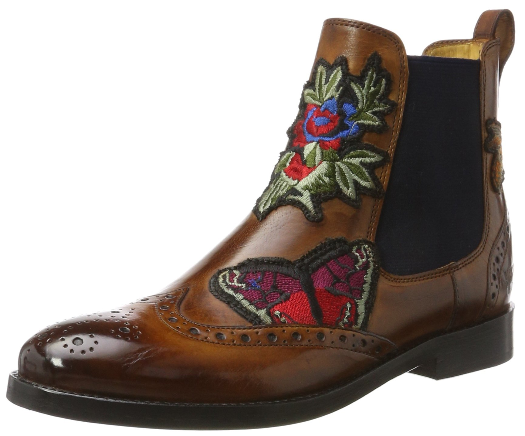 Boots Eu Shoes Of Made Melvinamp; WoodEmbrElastNavyLs Hand FemmeBrauncrust Amelie Mh Hamilton Class 44Chelsea Brw39 7g6fyvIYmb