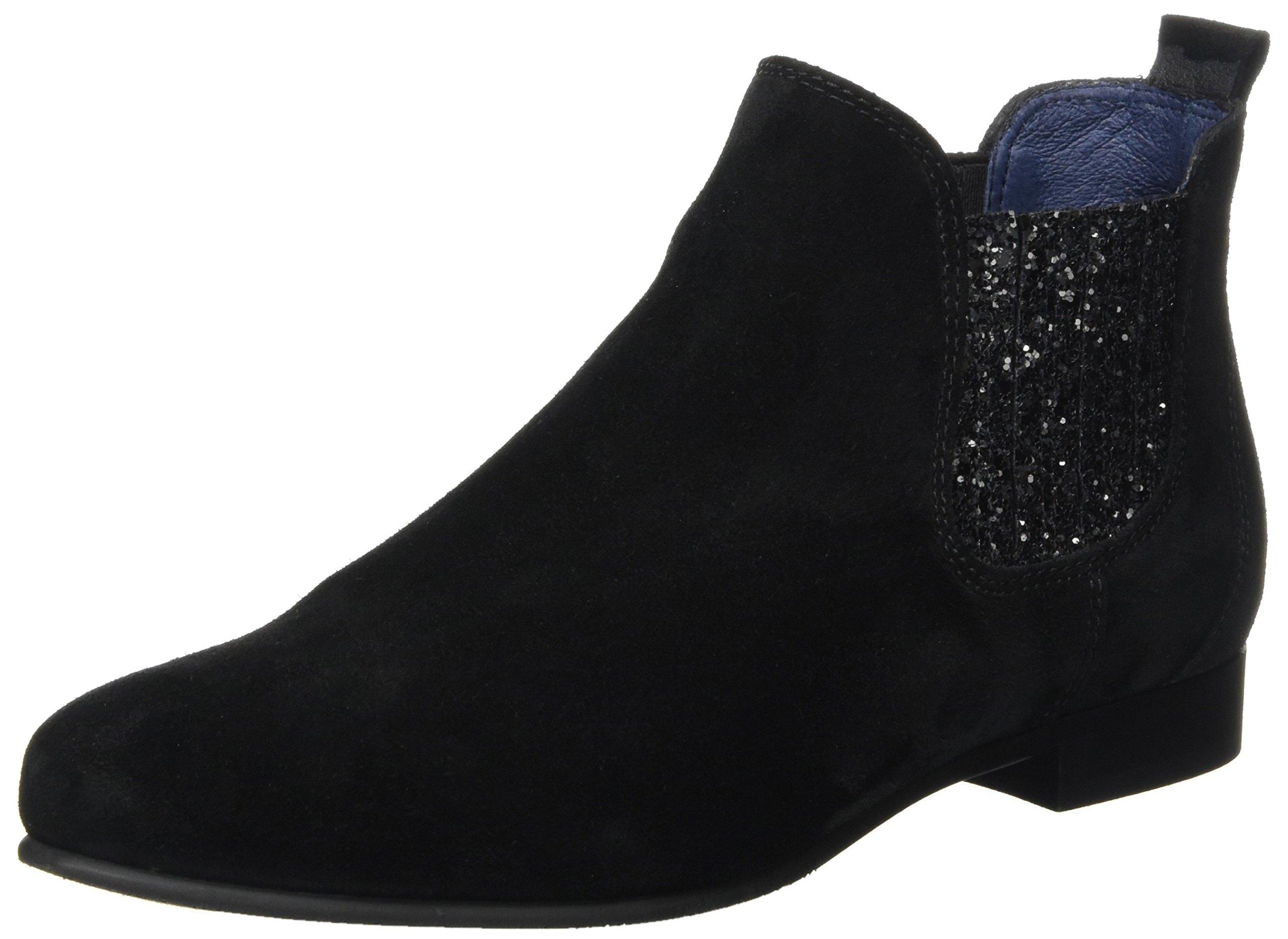 Eu Pinto Di Blu 0139 Boots AliceChelsea FemmeNoirblack qSUpMVzLG