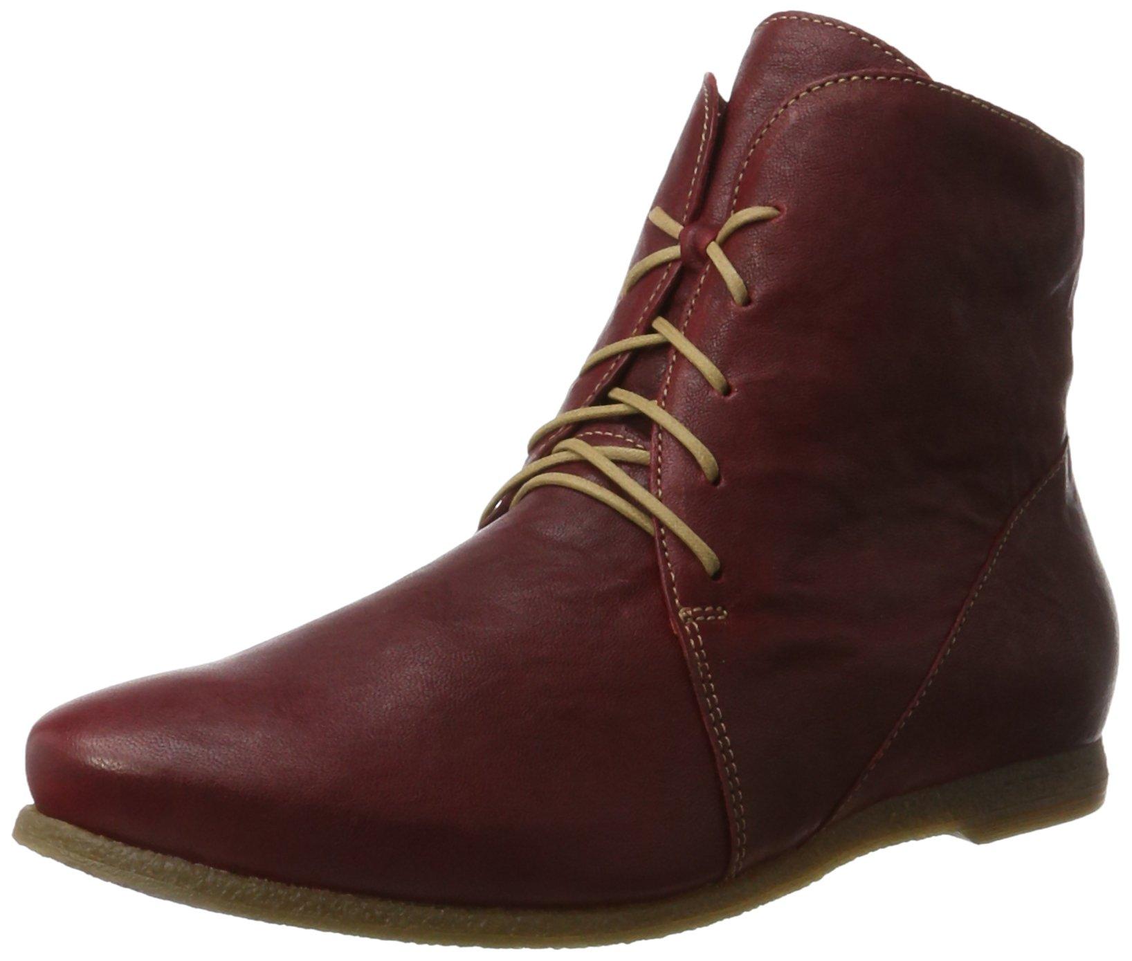Boots kombi 7238 FemmeRougerosso Eu ThinkShuaDesert 1KTJ3Flc