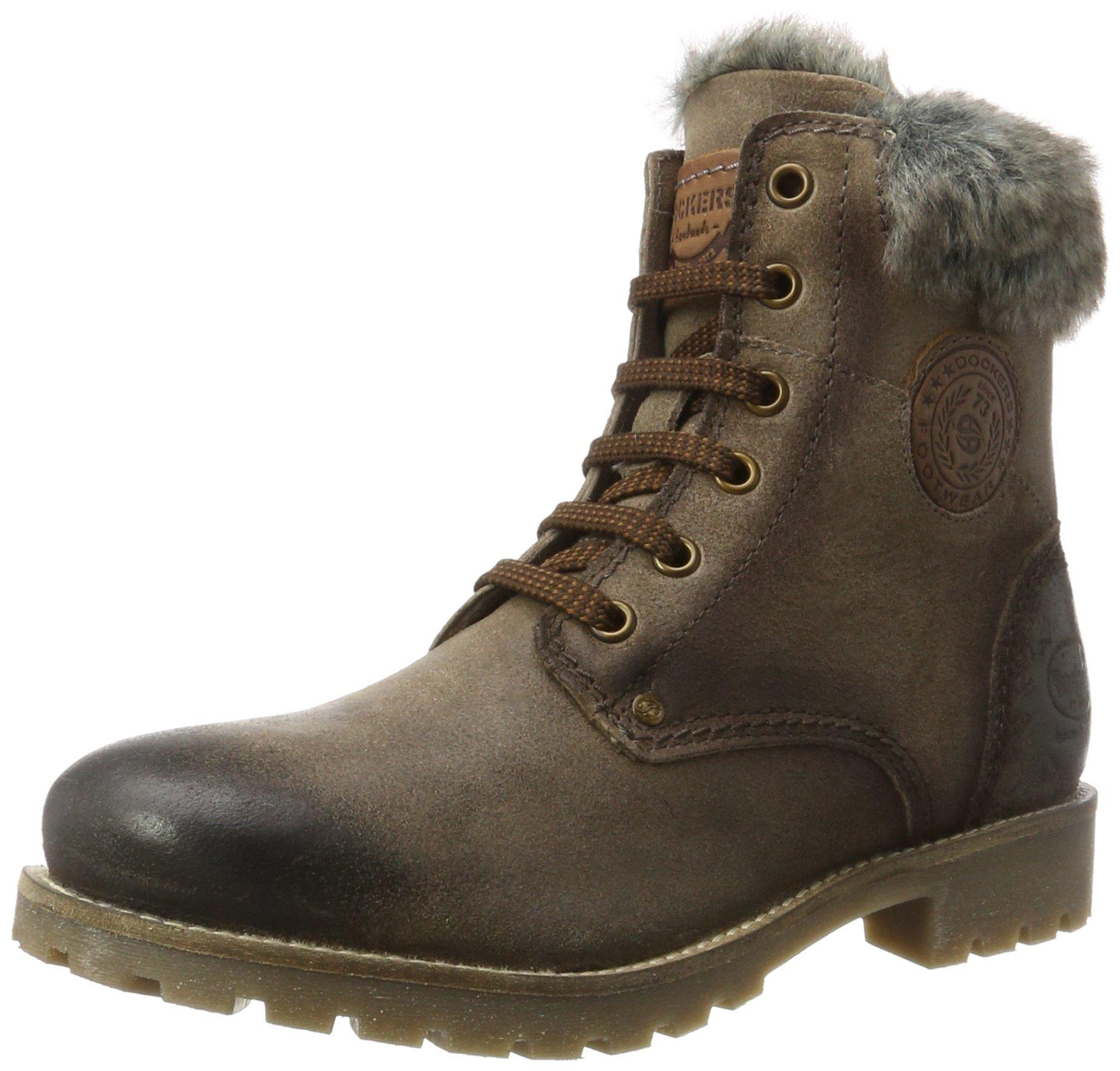 By 240Desert Eu FemmeGristaupe40 41hl301 Boots Dockers Gerli lTK3FJc1