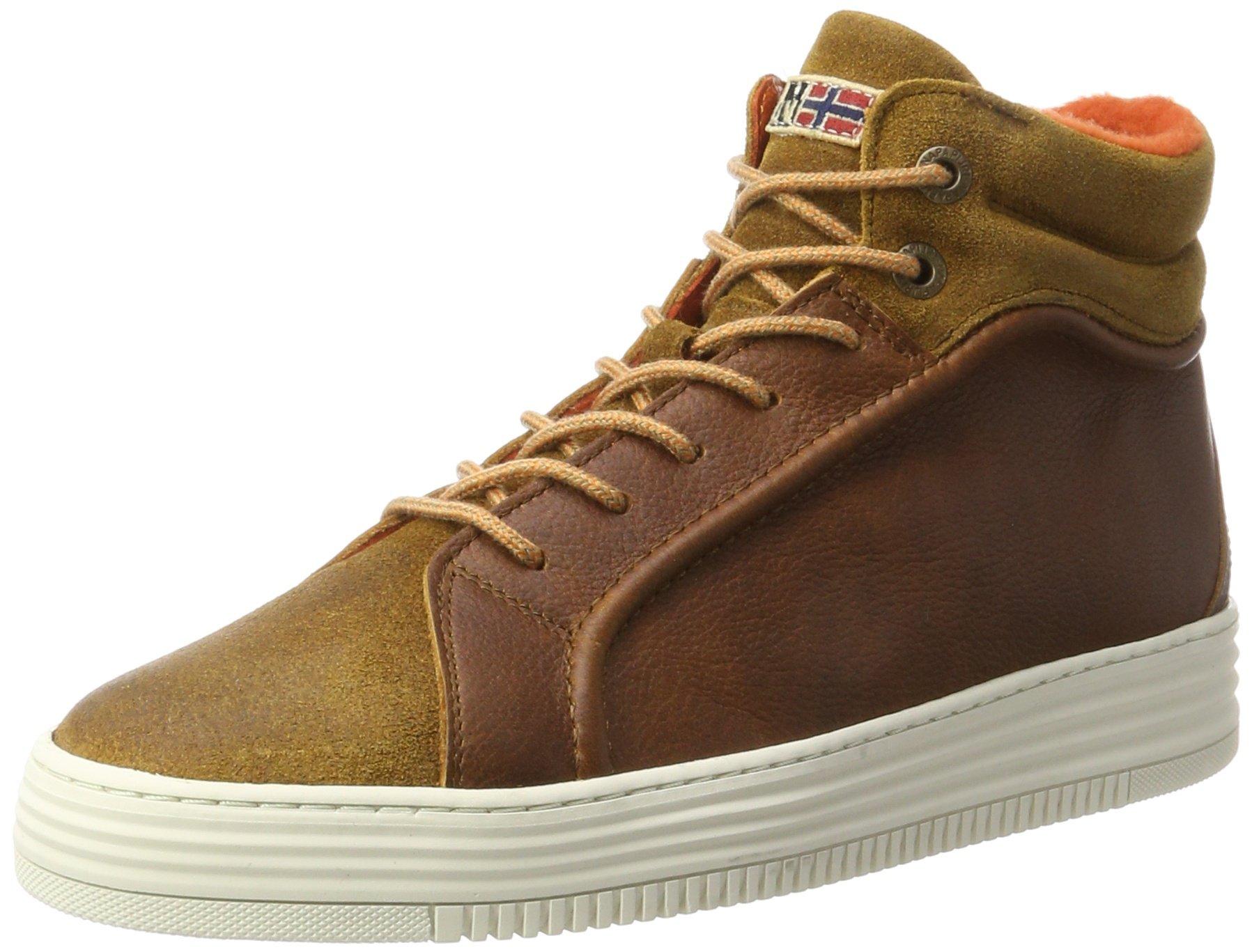HommeMarroncognac Napapijri Footwear N4542 Hautes GuruBaskets Eu zVqSMGUp