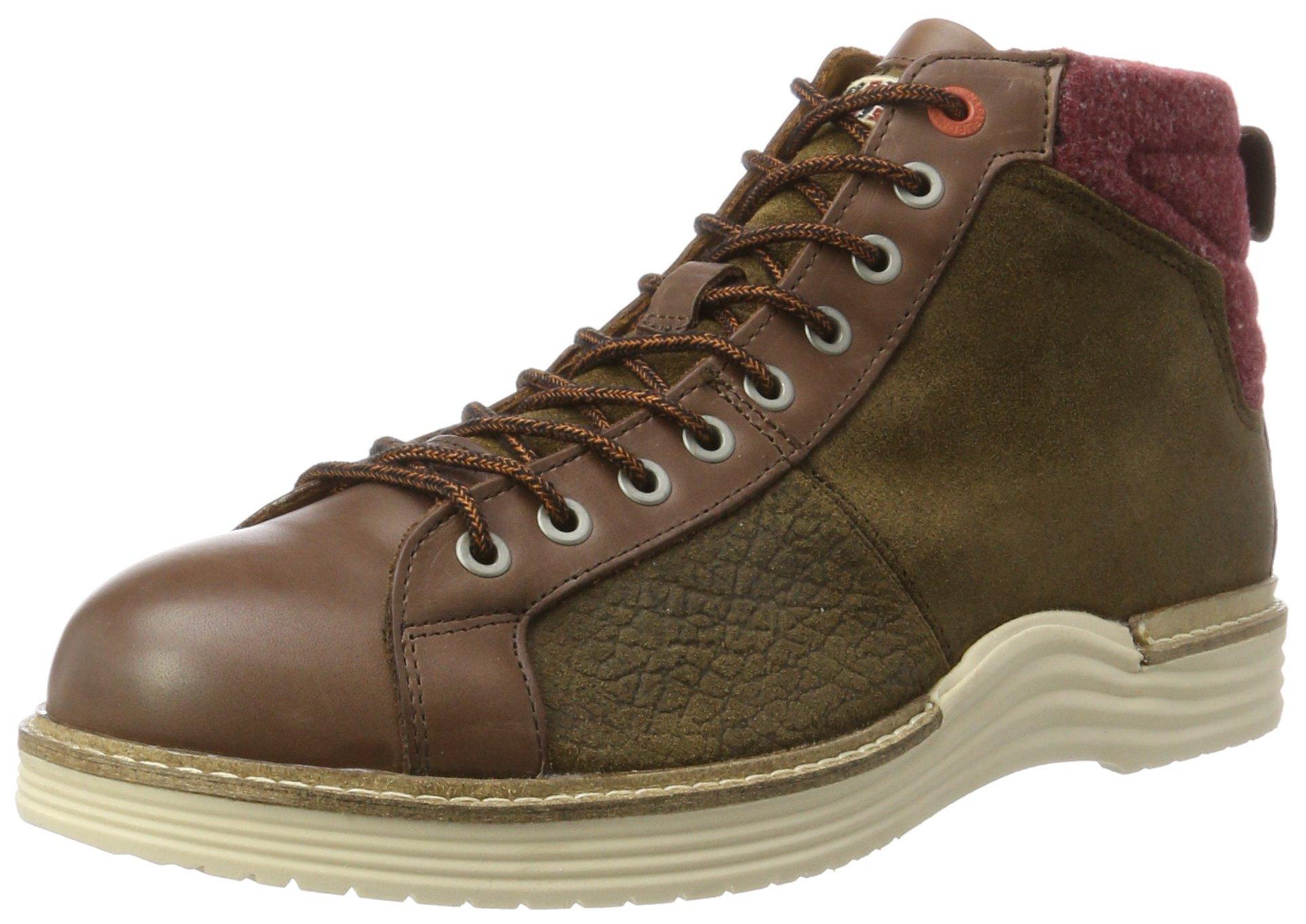 Eu Footwear HommeMarrondark N4644 Napapijri Classiques Brown 15841171Bottines 4ARc5LS3jq