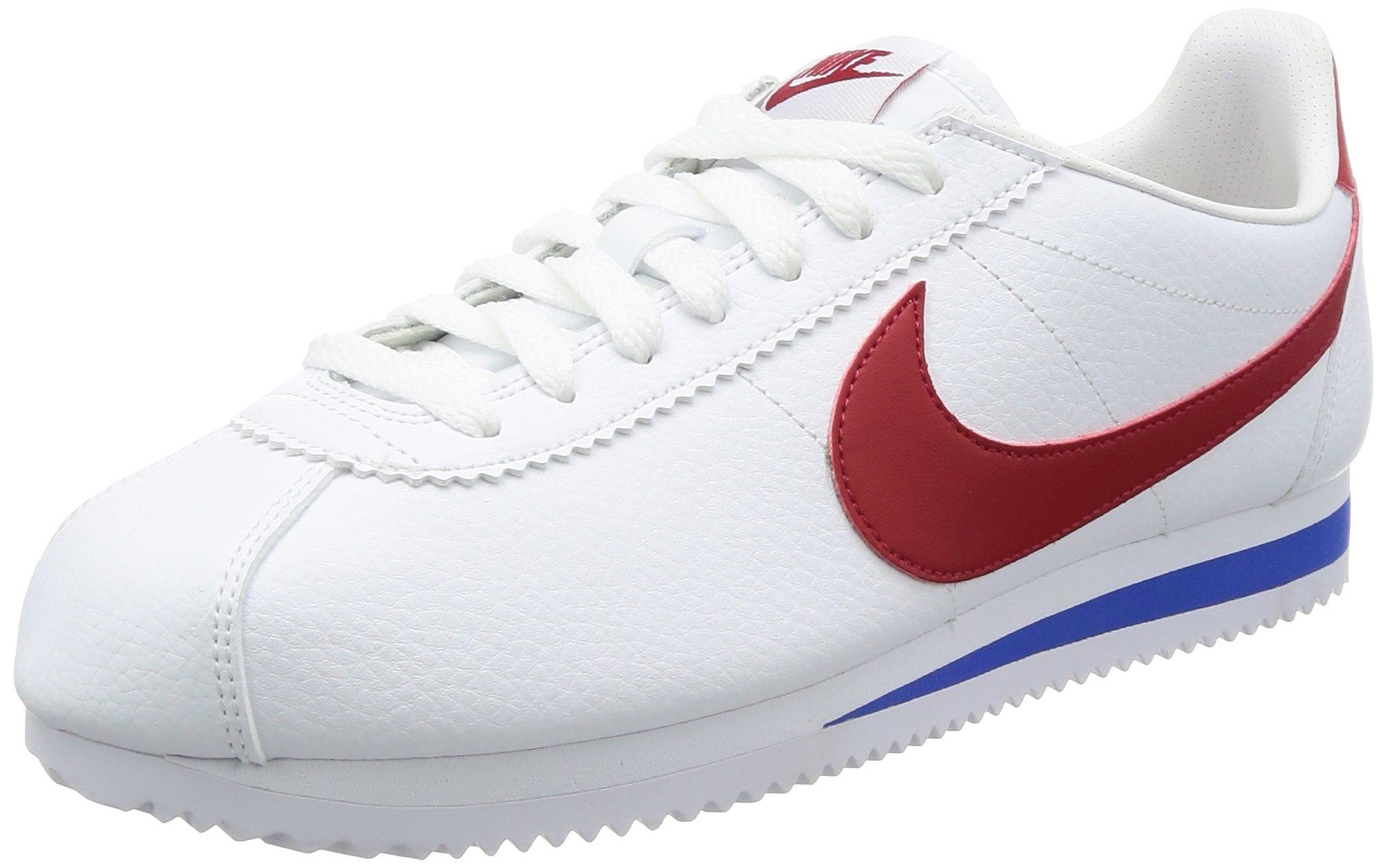 Nike Cortez HommeBlancblanc Eu LeatherChaussures Running Classic rougeintense46 De royaléclatant Entrainement qzSGLUMpjV