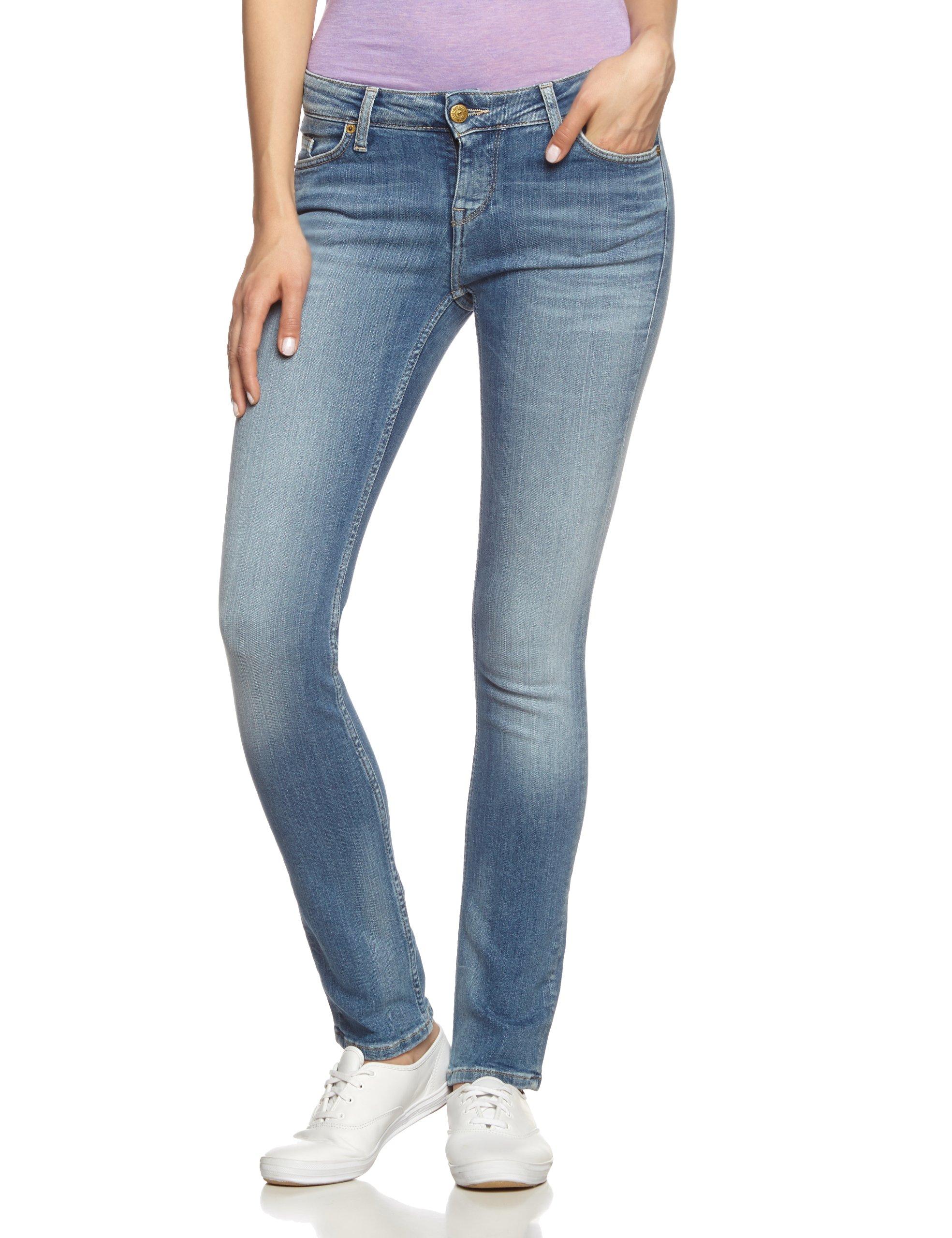 512Fr30w Mustang FemmeBleu 32 Fabricant 32ltaille 30 Blaubrushed Jeans Slim Bleached RjA53L4q
