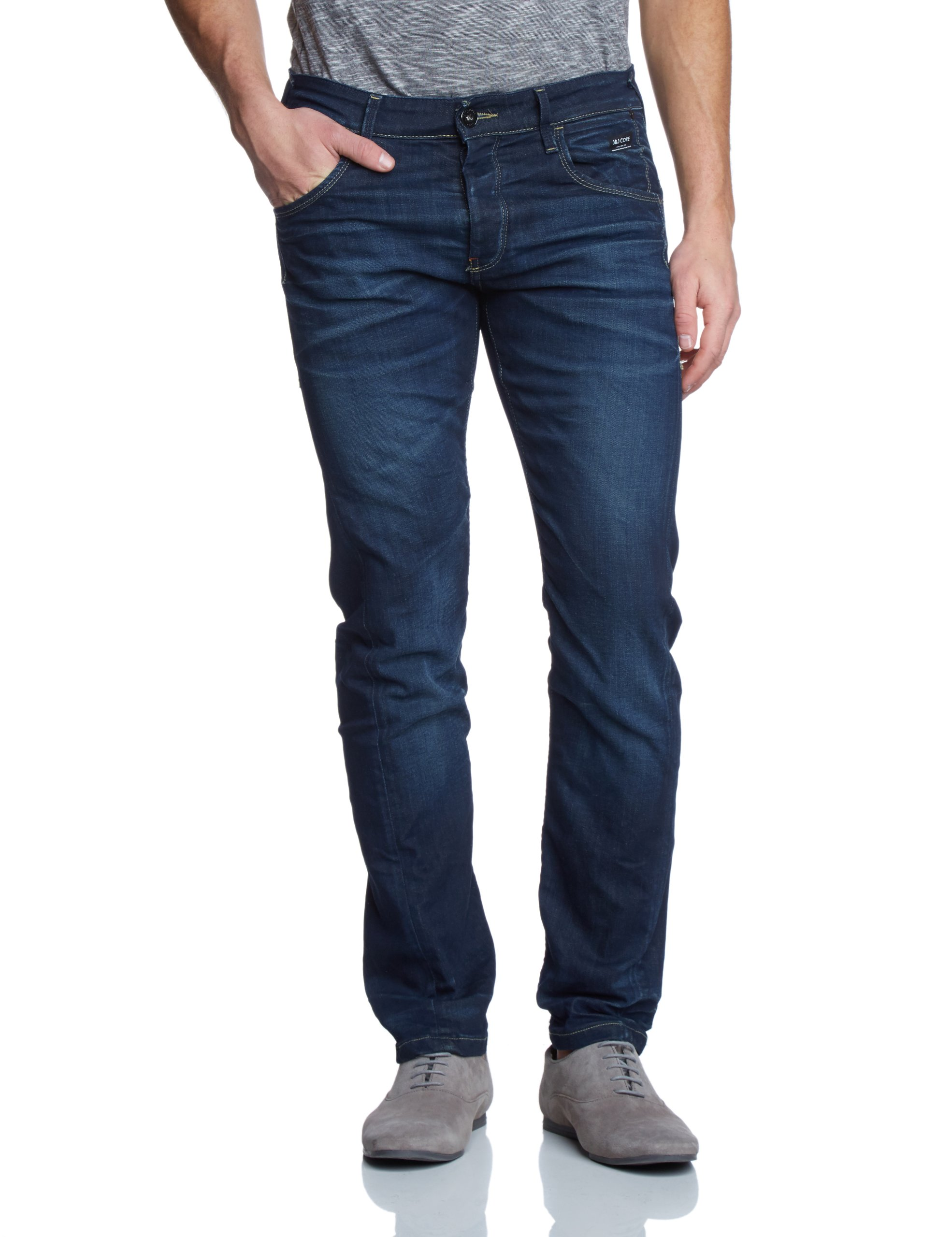 Denim bl LabJeans Nick Jackamp; W L wash Jones Bleumedium Slim Homme Blue 29134 36 MULSVzpqG