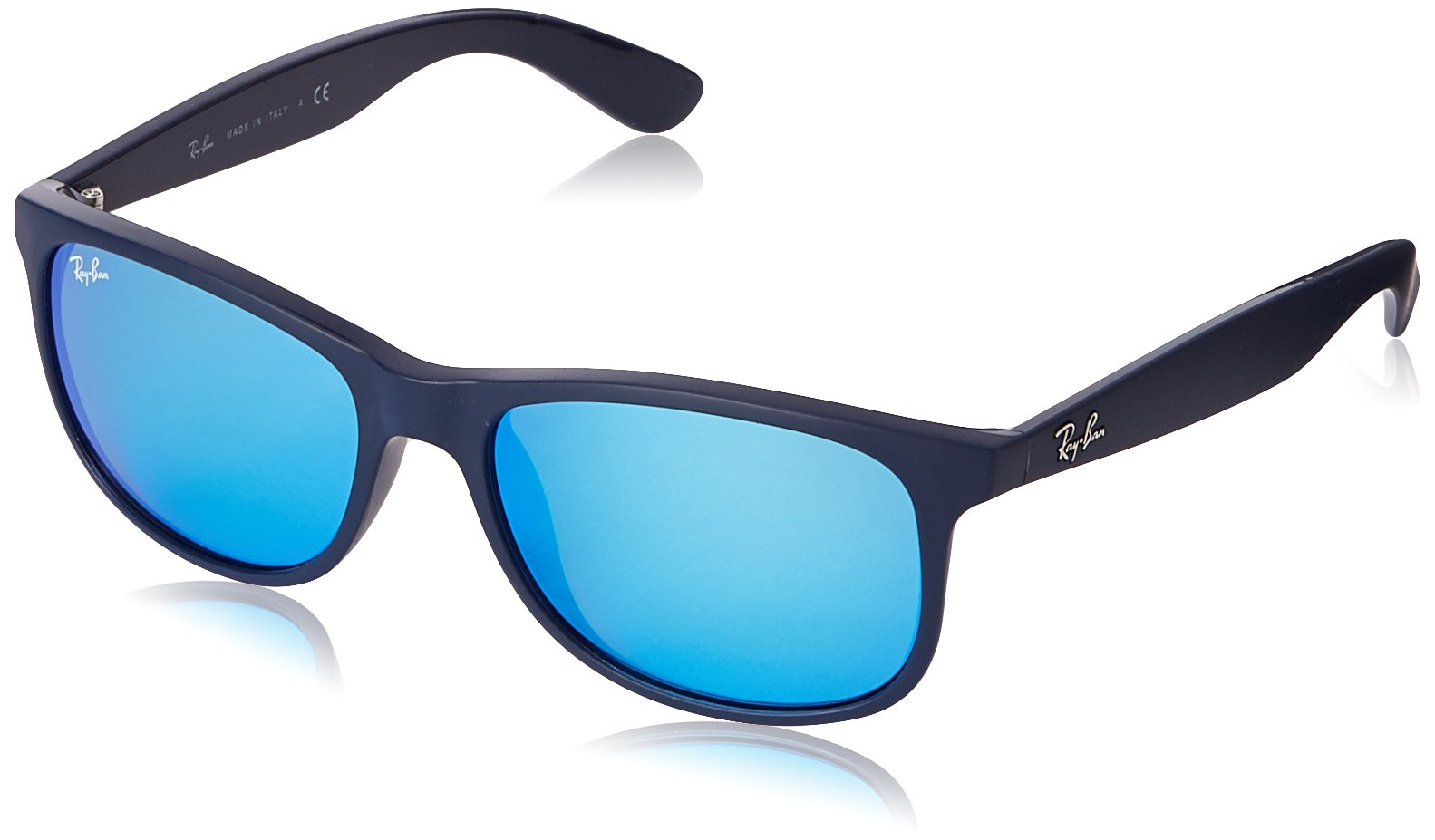 Homme On LunettesAzulshiny Blue Montures Top55 Matte Ray De 4202 ban v7Ib6yYfg
