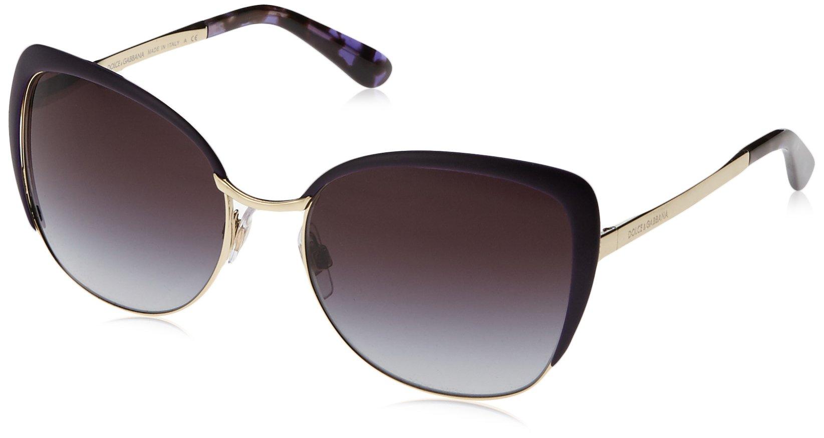 gradientFemme Gold Gabbana 12538g 0dg2143 57 violet De LunettesOrpale Dolceamp; Montures UzpGqSMV