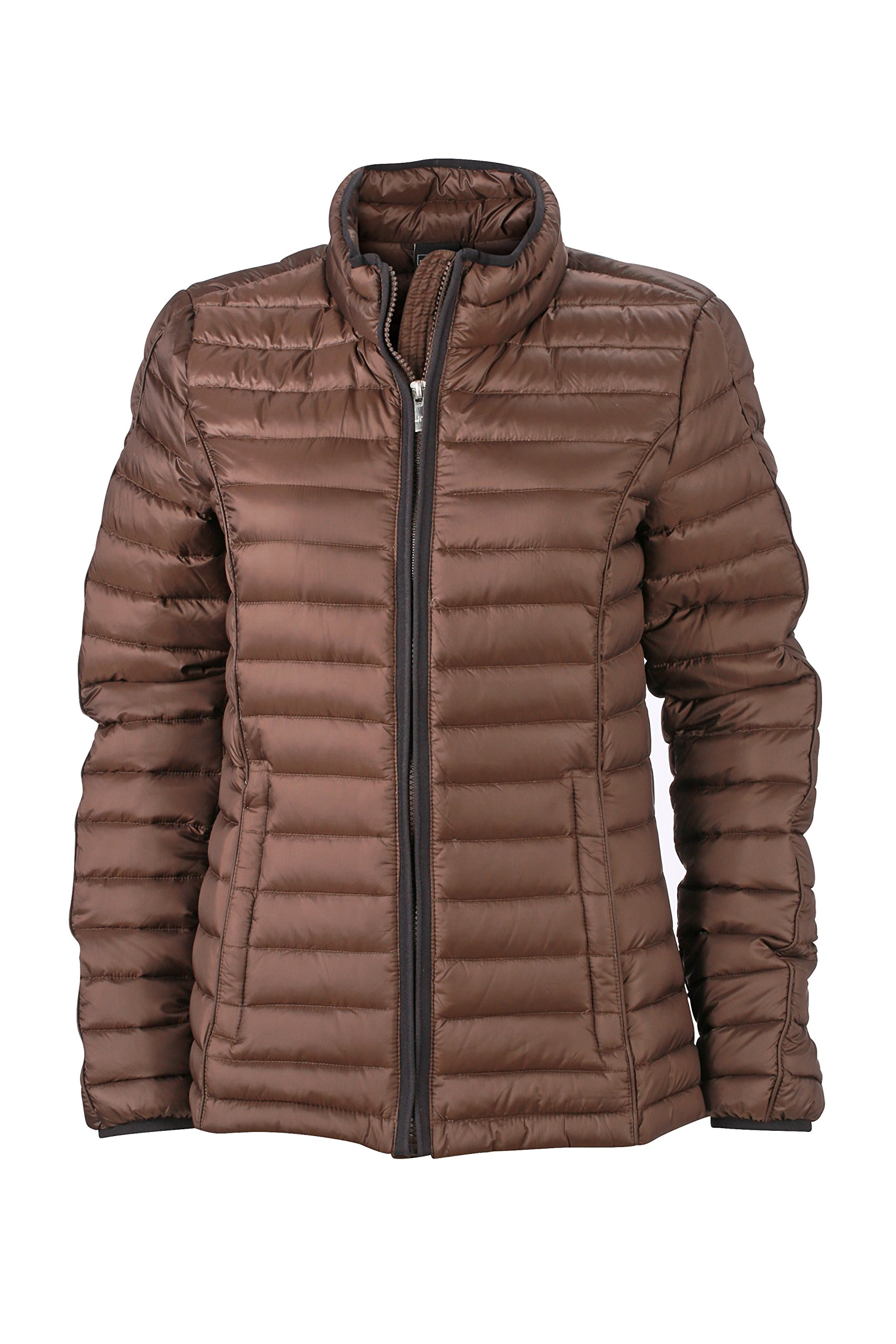 Quilted FabricantLarge Blouson Nicholson blackTaille Daunenjacke Jamesamp; Down Jacket Ladies FemmeMarroncoffee XiPkOZu