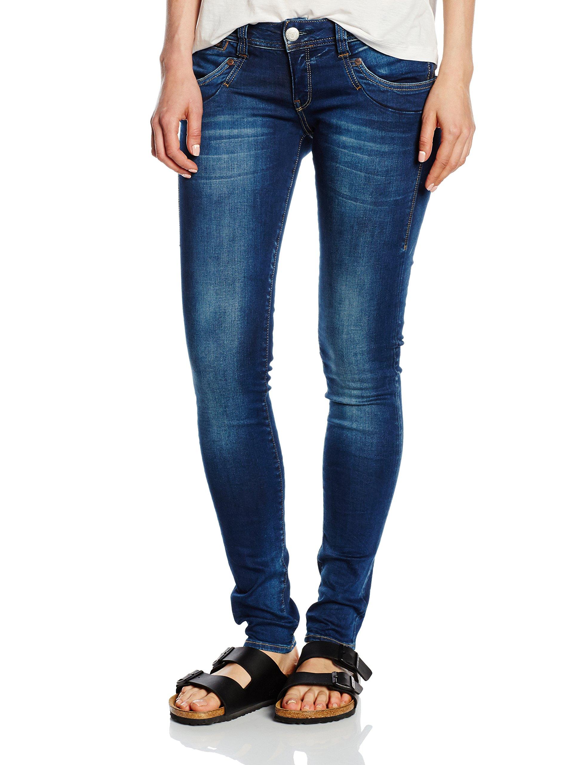 Denim Herrlicher FemmeBleueasy PowerstretchJeans 32 Blue 084024 L Piper W Slim nNw80mv