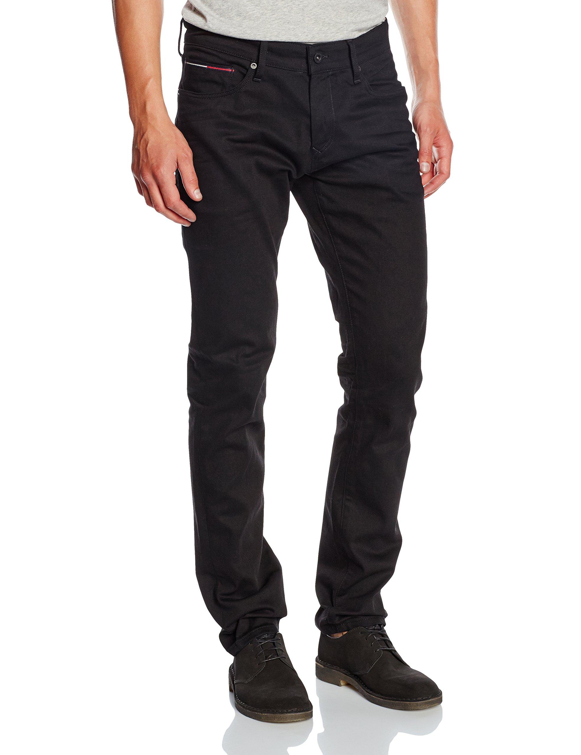 Tommy FabricantW31 Homme Jeans l32 Hilfiger Denim Slim Scanton JeansNoirblack ComfortTaille Blco GpqSUMVz