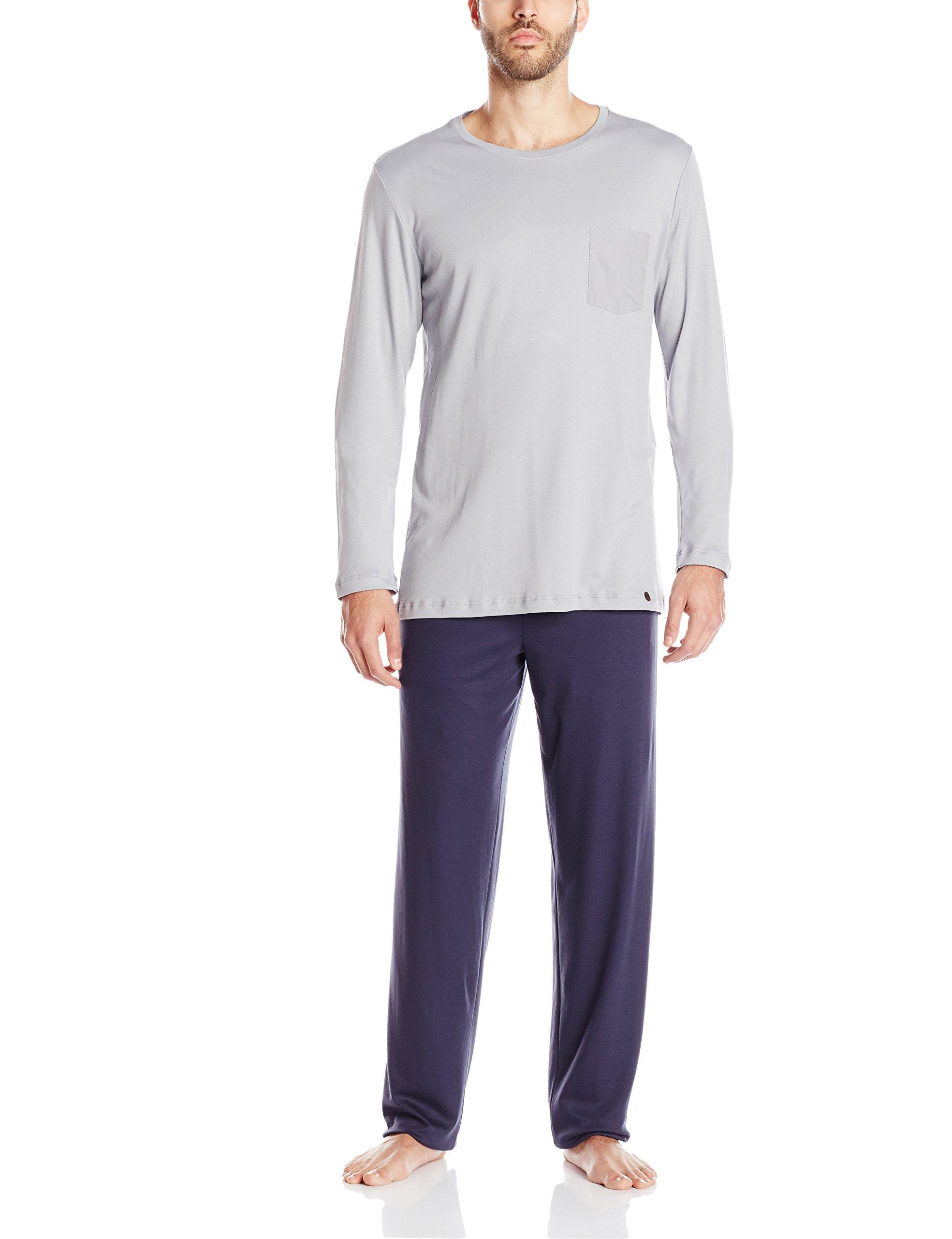 pyjama EnsembleBleu 1162Ltaille FabricantLHomme 1 Hanro Day Nightamp; blaumineral Arm 1 lFK13TcJ