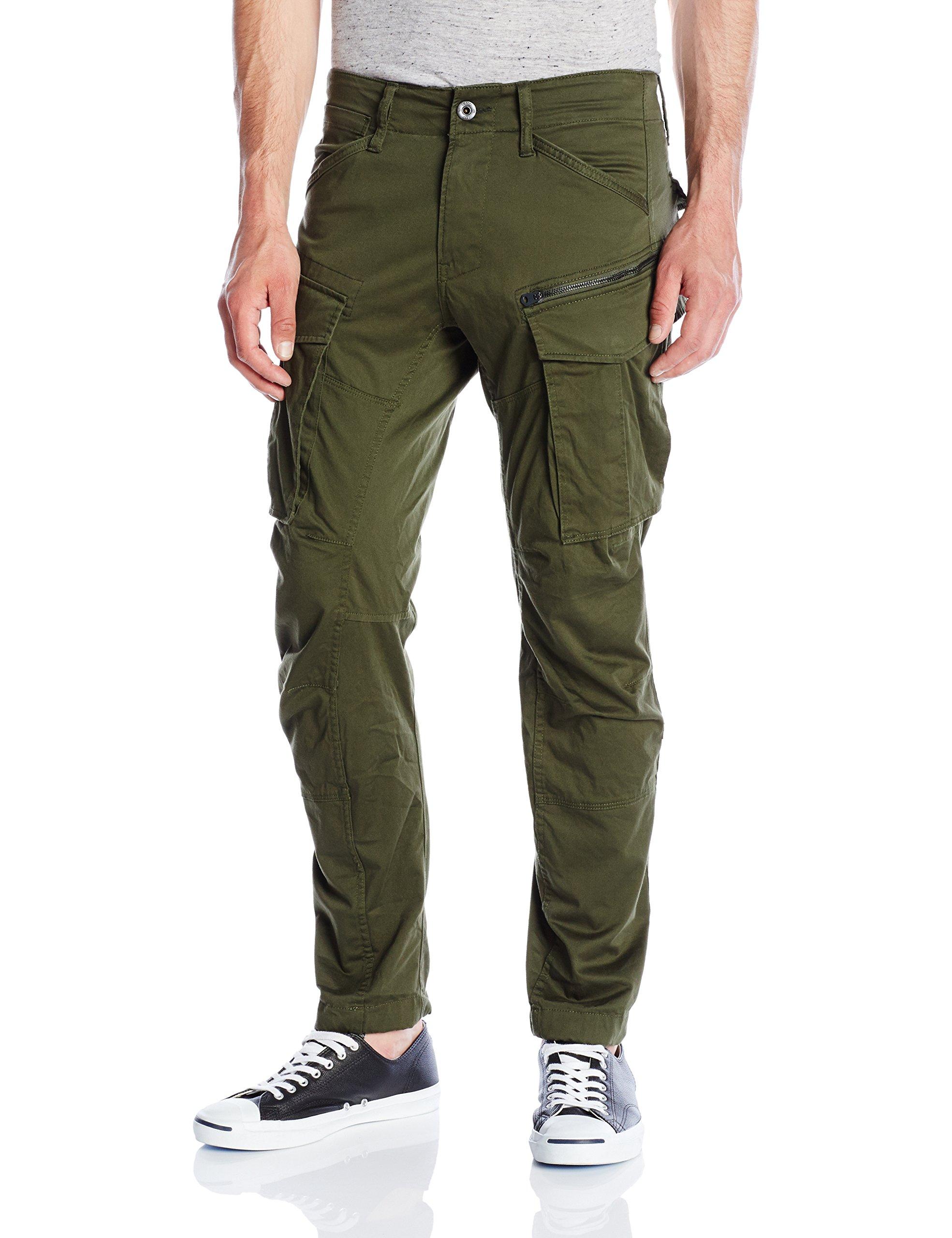 3d Tapered Green Raw star G Homme PantalonVertdk 605926w34l Straight Rovic 5126 Zip Bronze vN0mnPyw8O