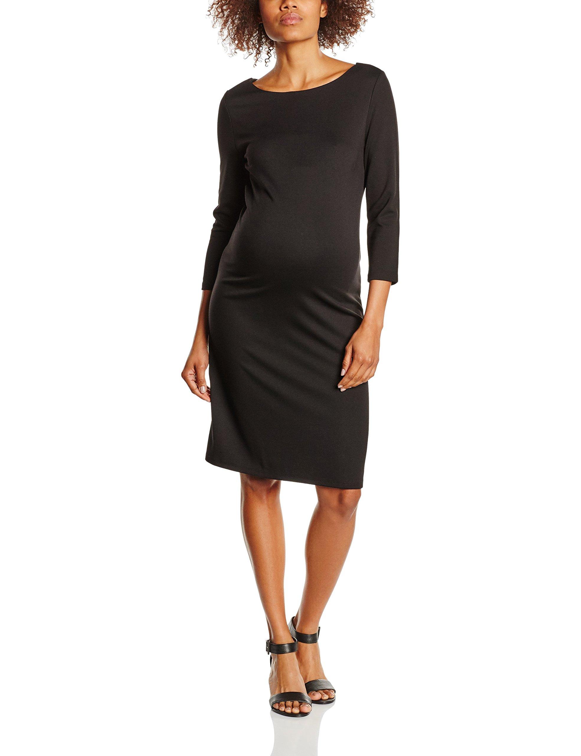x large Dress Noppies 3 4 De FemmeNoirblack44taille Fabricant SlvRobe Maternité TcFul31JK