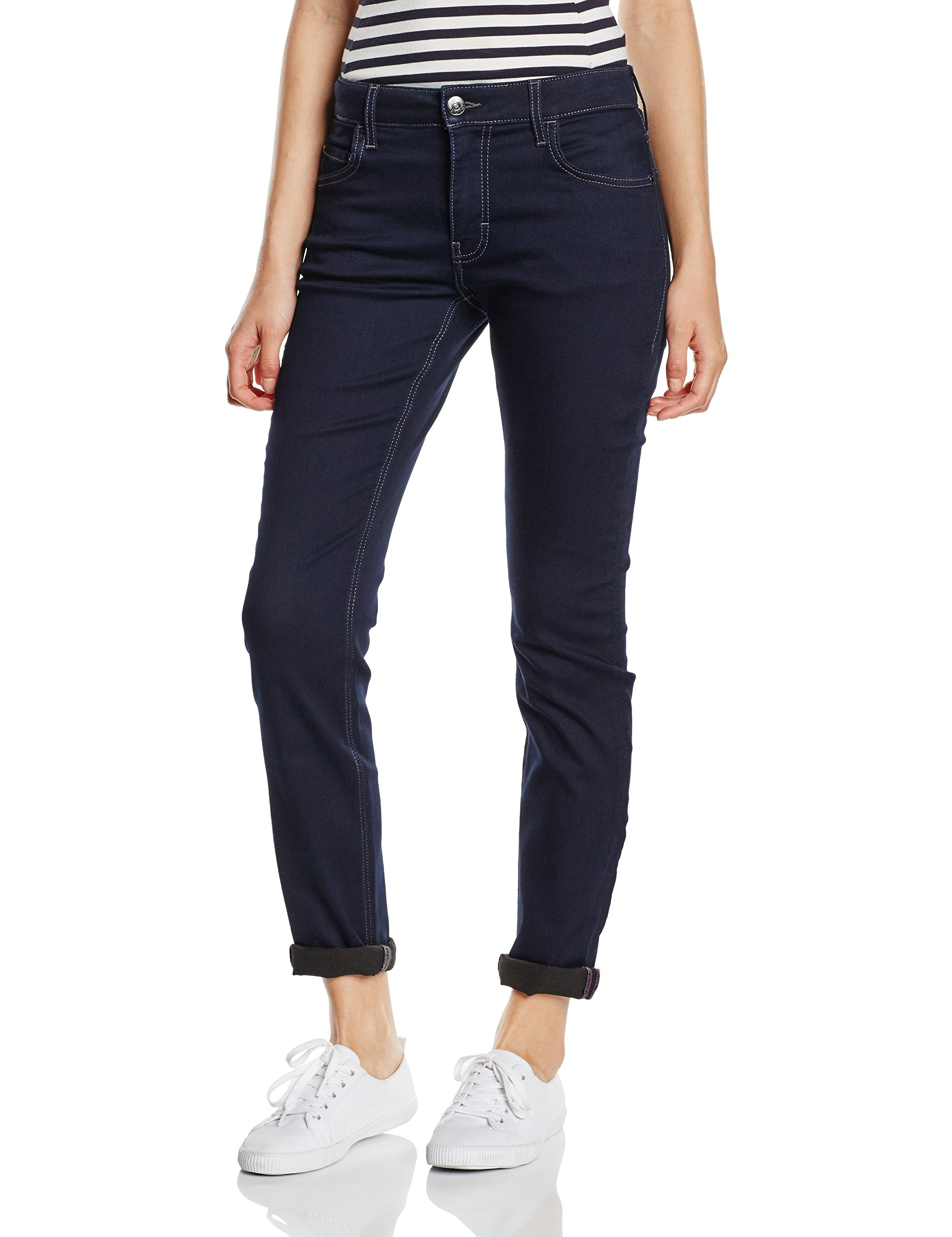 Washed Femme Mustang JeansBleu L 59032 W30 Perfect Softamp; blaurinse rCoWxBeEdQ
