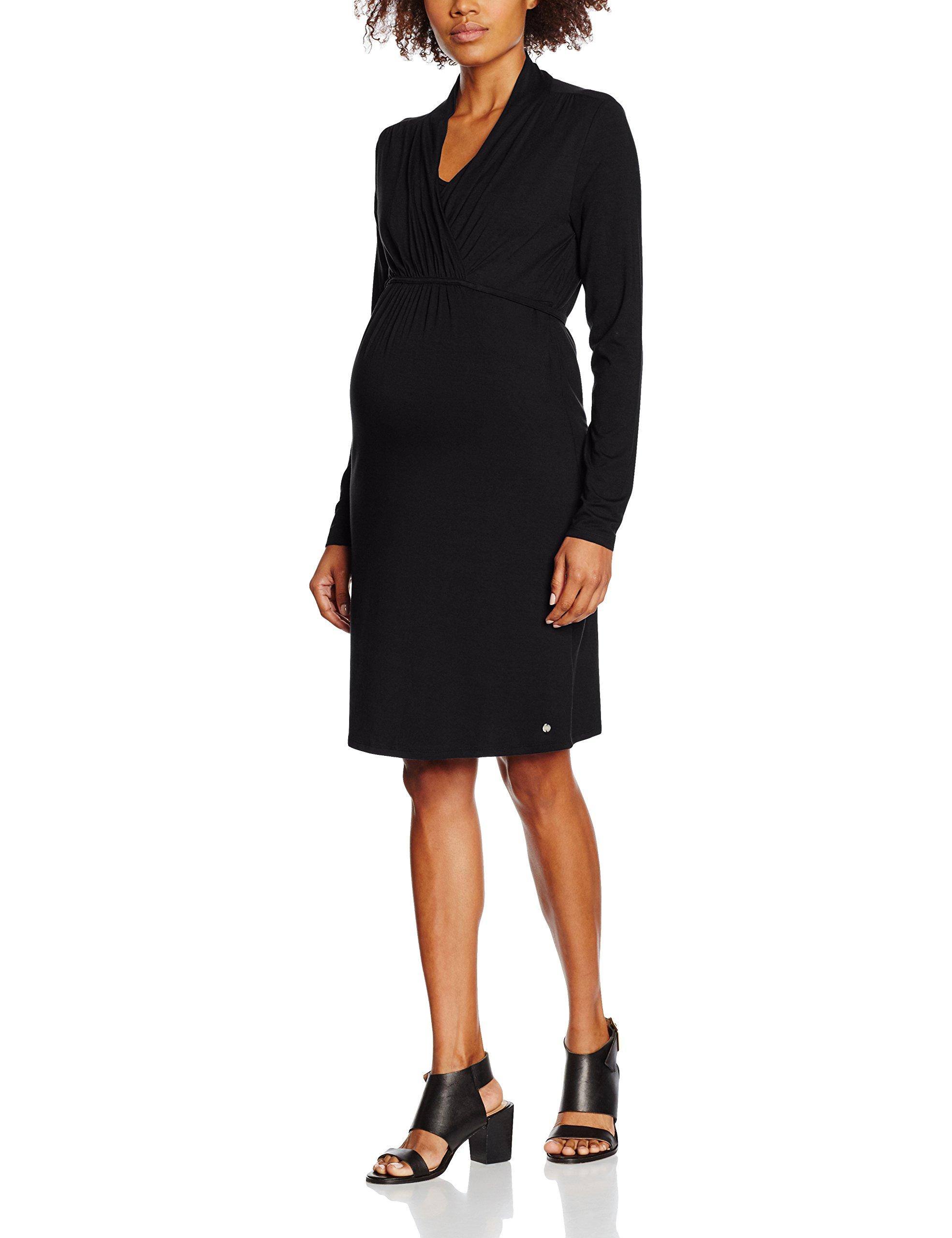 Ls 00142 Esprit Dress Maternity M84280 Nursing Robe Femme MaternitéSchwarzblack De AR54qL3j