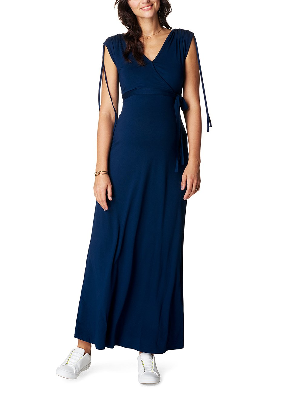 Dress May FabricantLFemme RobeMaternitéBleumidnight C16342taille Noppies Blue Nurs Long 70213 lKcTFJ1