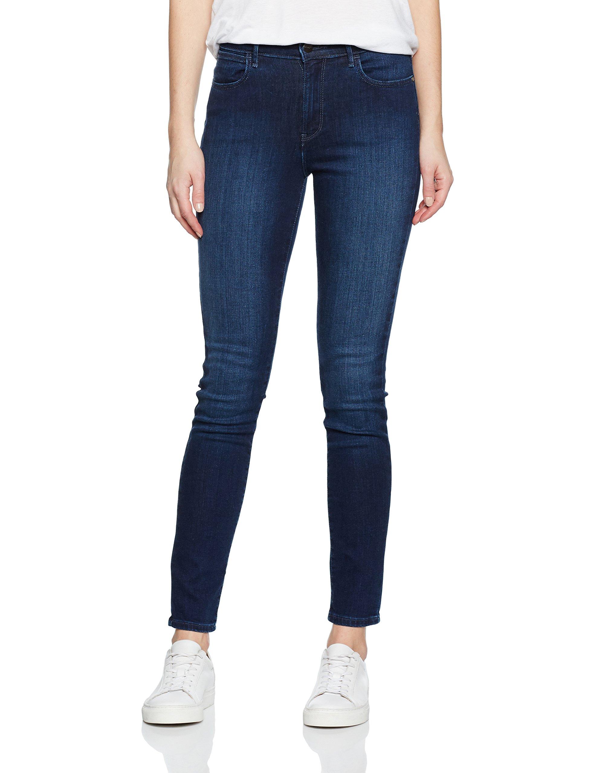 BlueW31 l32 High Skinny Subtle BlueJeans Rise FemmeBleusubtle Wrangler y8NwvmO0n