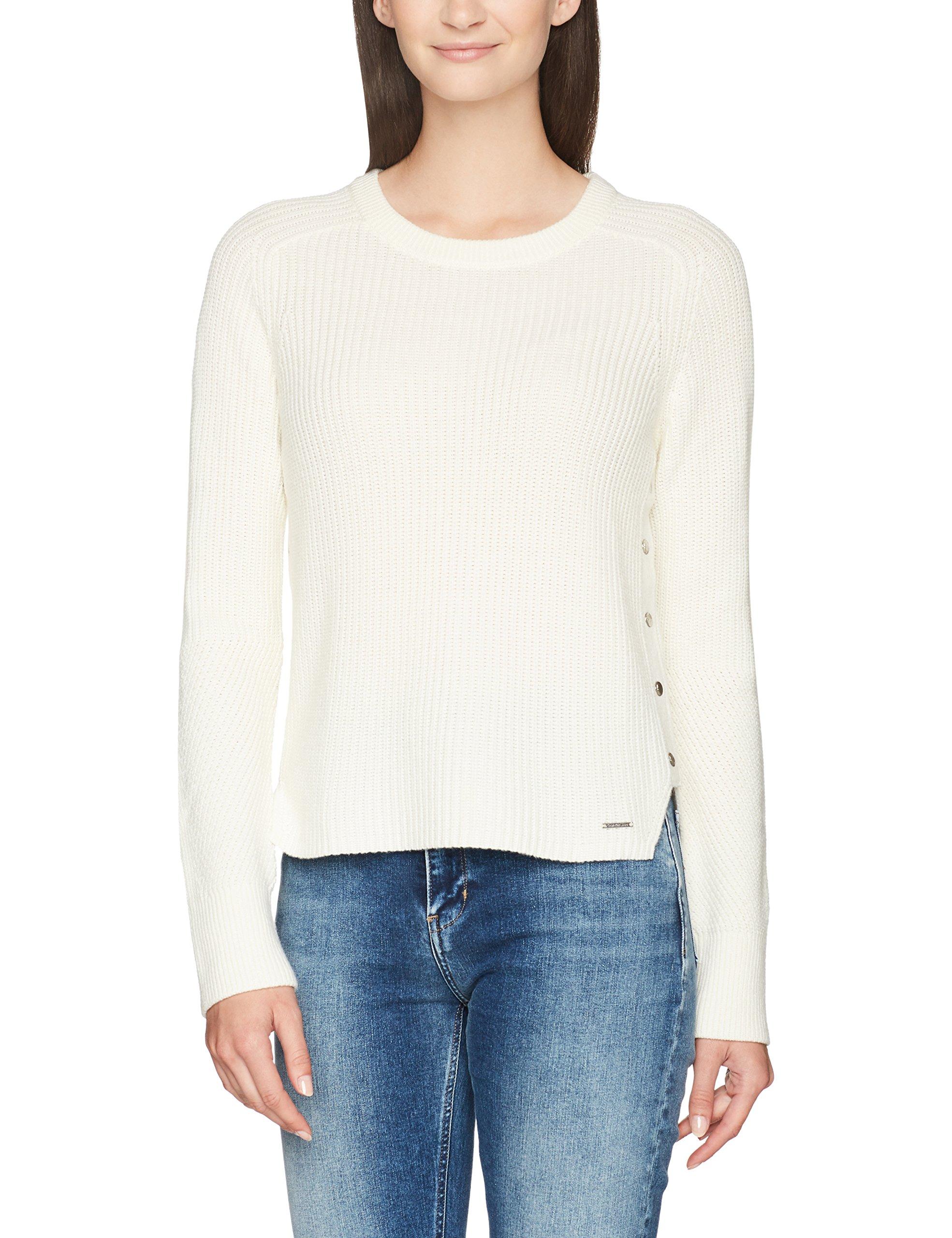 Sweater LsPull Klein FabricantS FemmeBlancbright Cn White Calvin Swan 112Smalltaille Jeans VpUMqSGz