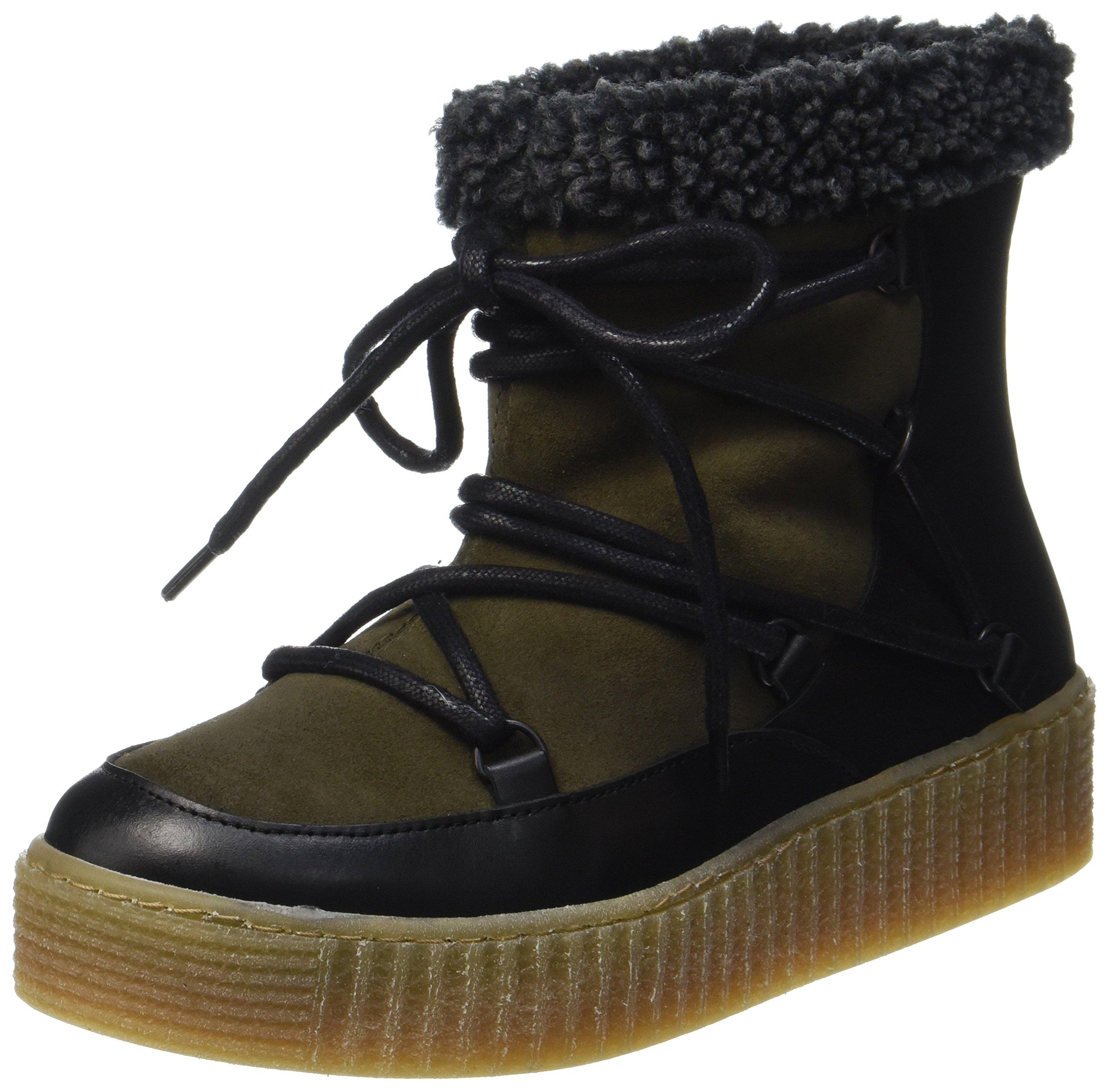 Pspaccia Neige Eu Boot OliveBottes Leather Dark FemmesVert38 Pieces De 8wPX0nOk