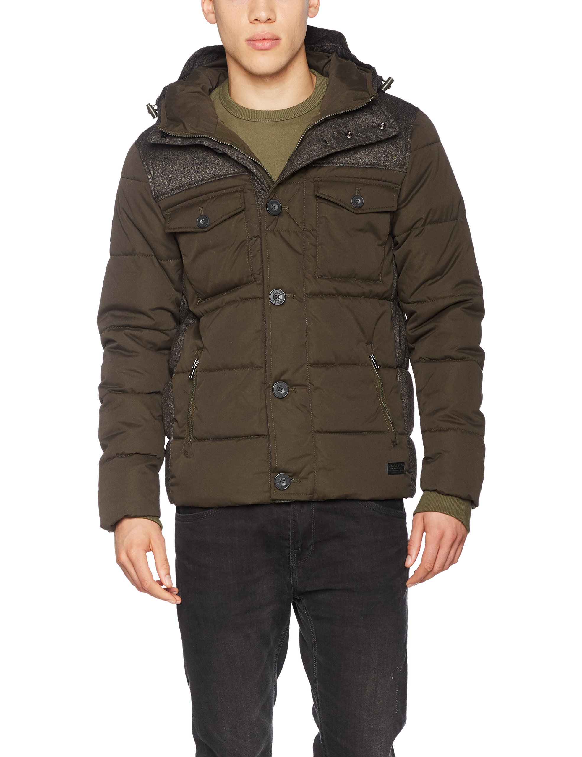 Veste Superdry Tech De SportVertkhakitaille FabricantX Jacket Tweed smallHomme pqUVSMzG
