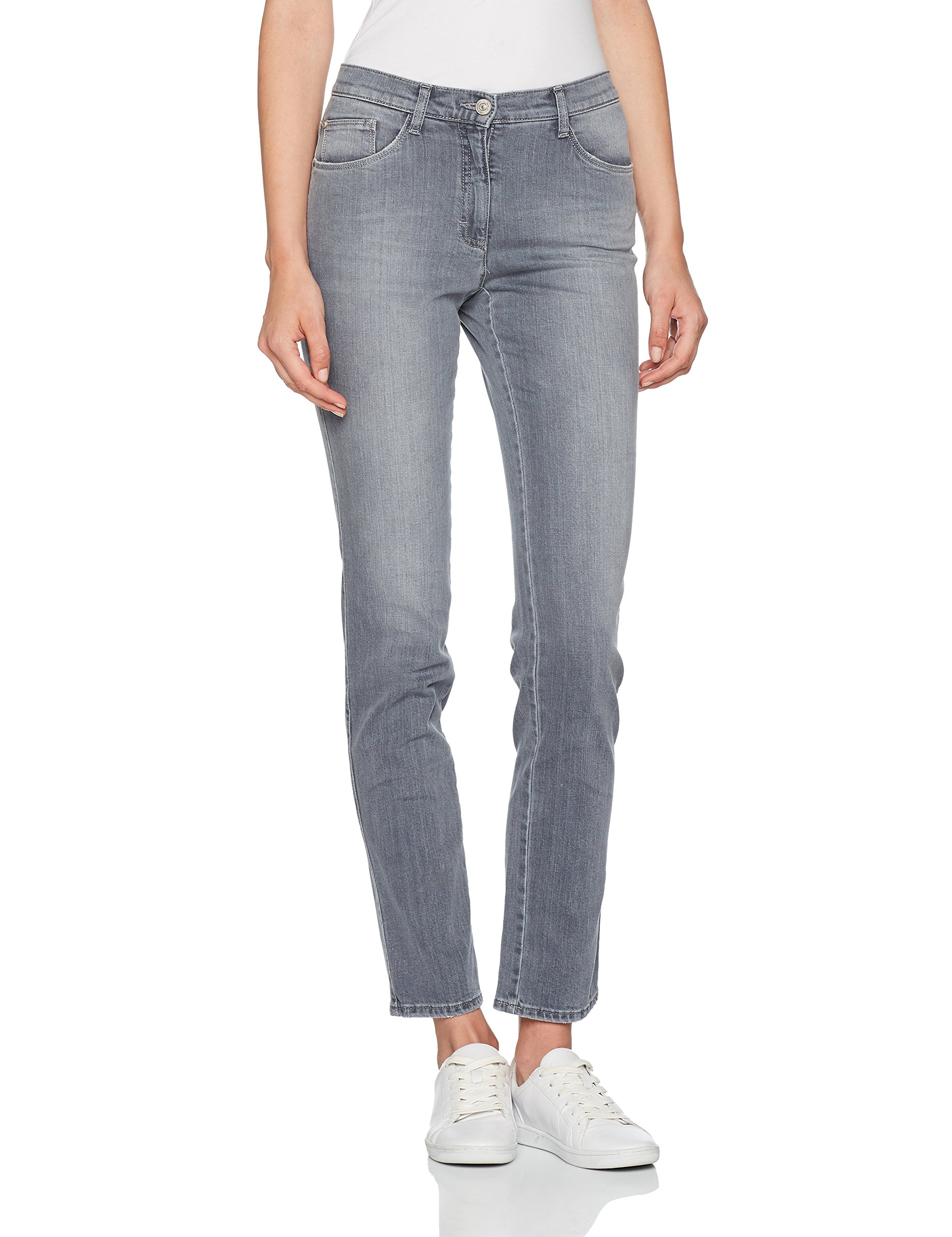 SlimGrisused Ltaille 534 mary Fabricant44Femme 32 Brax Bx Jean Silver Grey W wOPNkX8Z0n