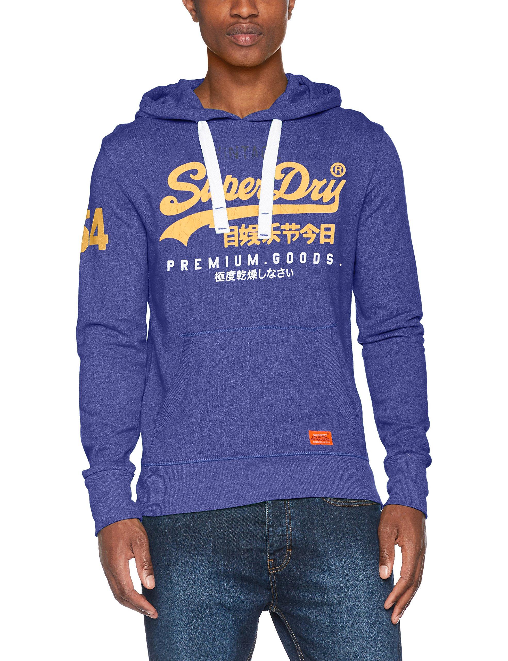 Sweat FabricantLargeHomme Capuche Superdry Lite Goods À Premium shirt Blue Grittaille SportBleucobalt XPkiOuZ