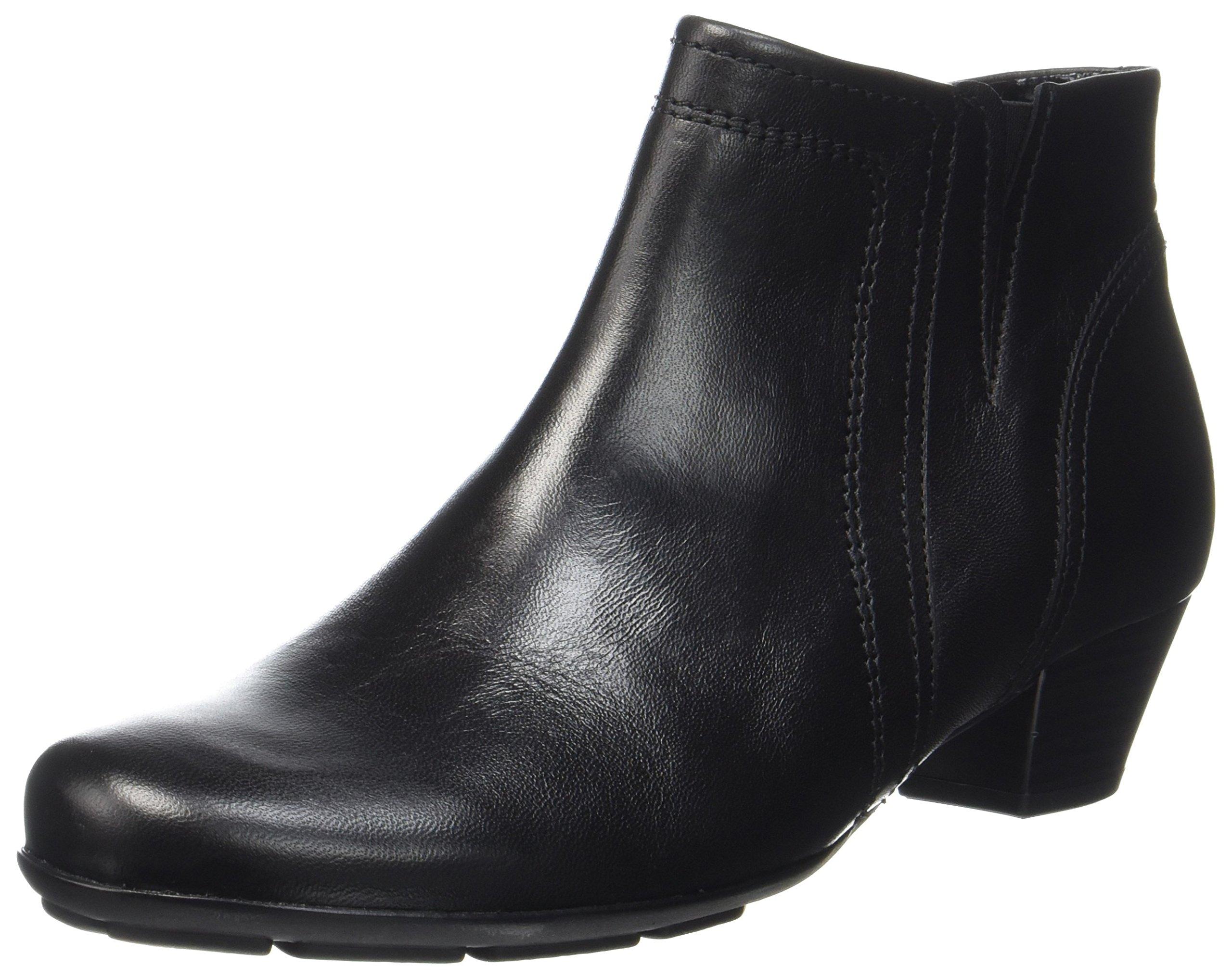 BasicBottes Gabor 5 Eu Shoes Schwarz37 FemmeNoir27 k0wPnO