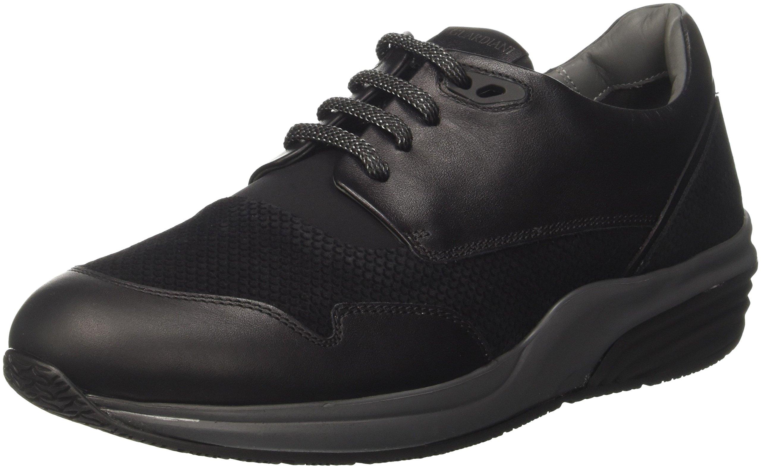 Eu HommeNoirnero Alberto Guardiani 000042 Su75323dasSneakers Basses KTFl1Jc