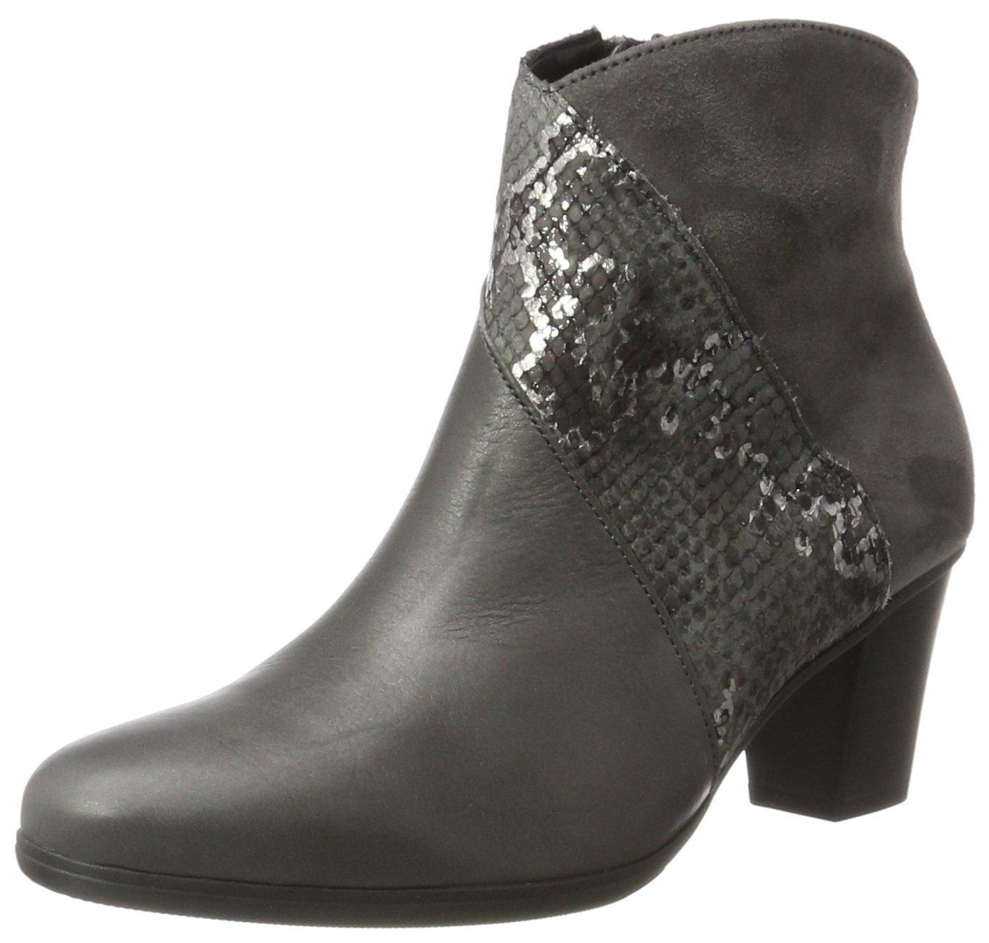 Dark Micro38 grey Gabor BasicBottes Shoes Eu FemmeGris69 l1JFK3Tc