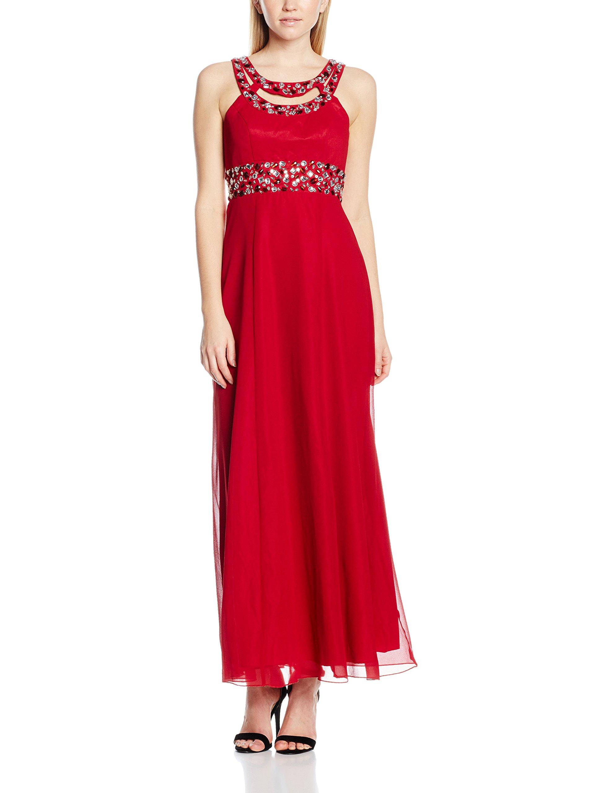 Evening Dress Veronica De Fête E42 Femme soiréeRedburgundy Robes My 5A4Lj3R