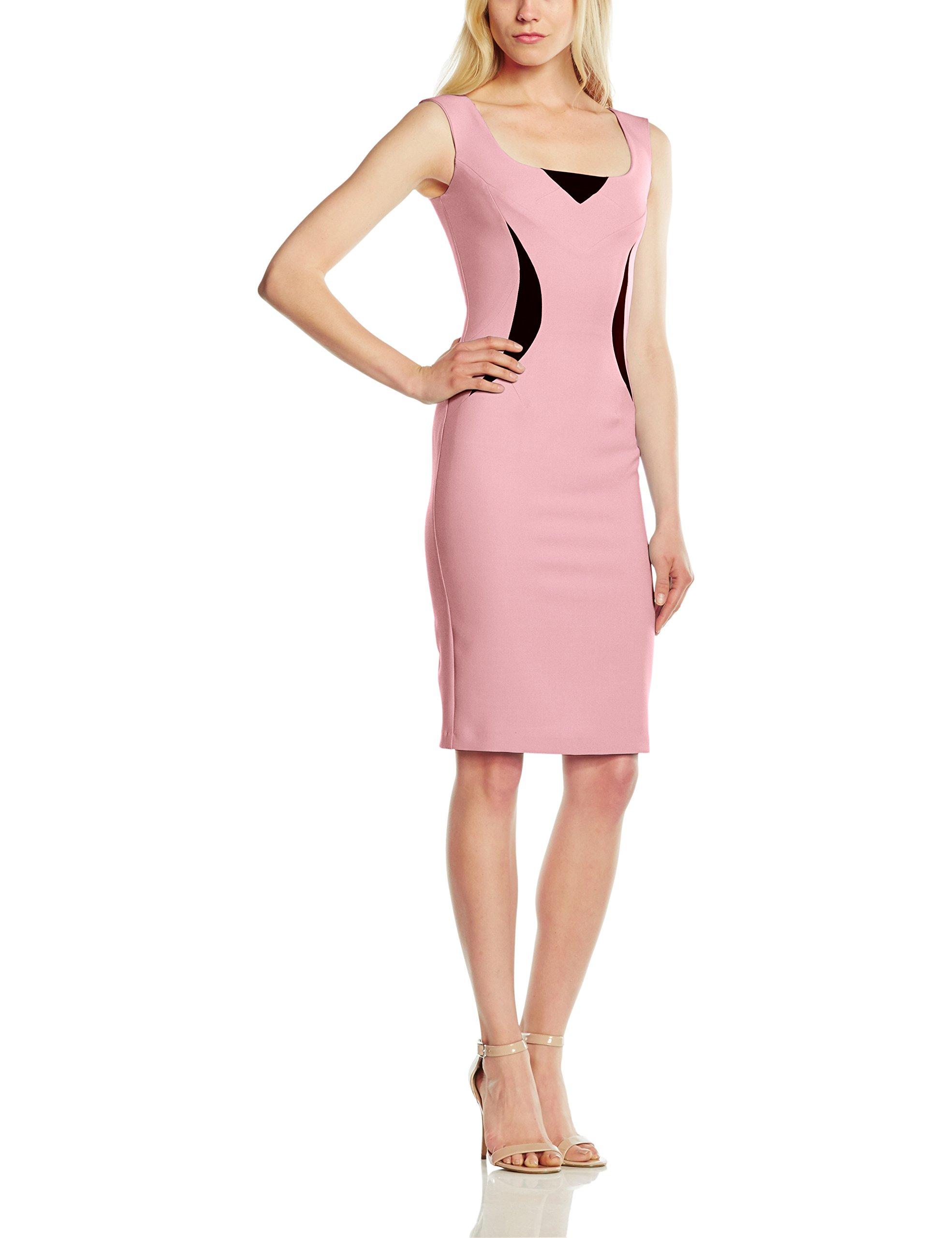 FemmeRosa ElviraRobe Manches Moulante Courtes Pinkbaby Pink44 Hybrid 901 rBxWQoedC
