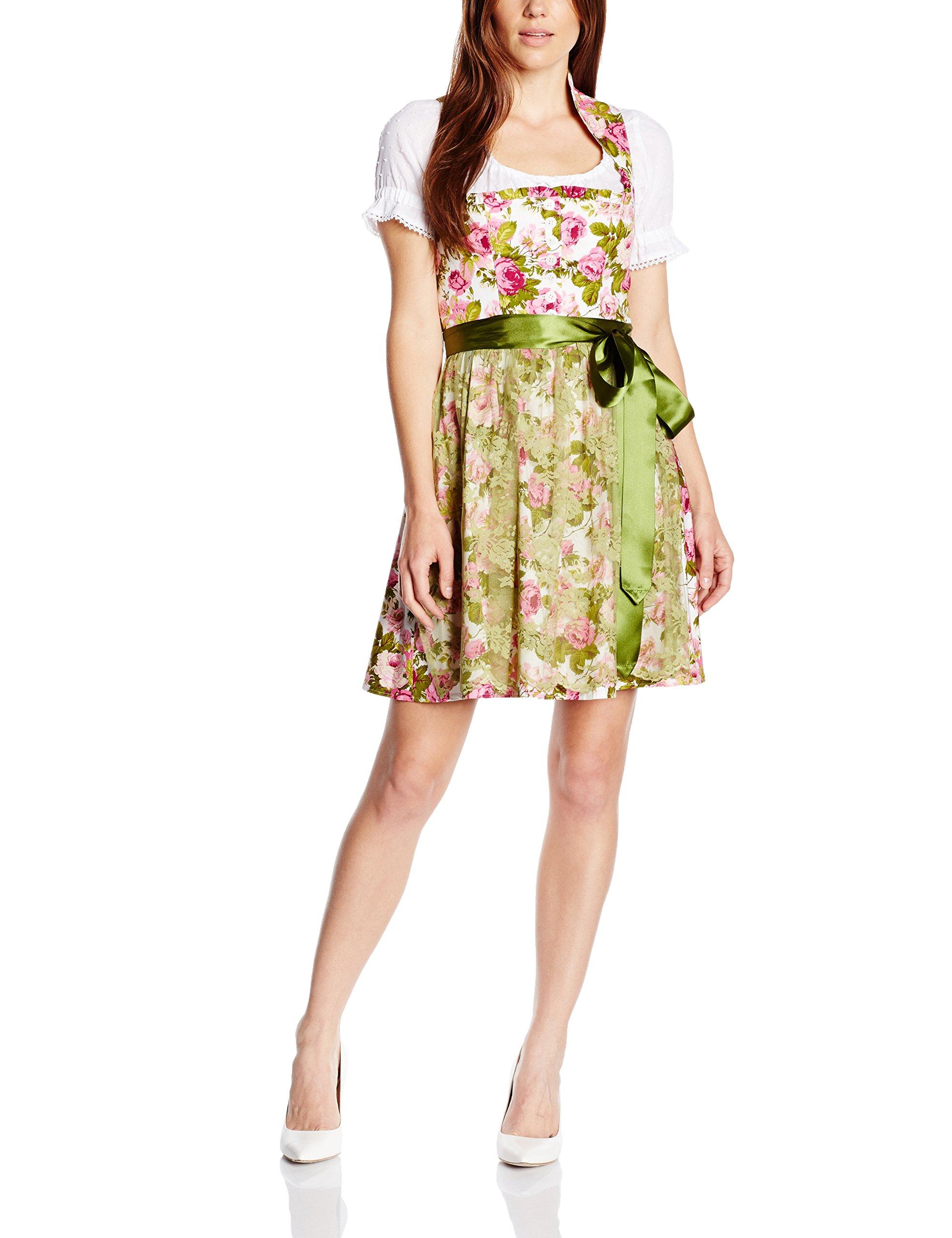 Multicolore Wolff 182742 856050 grün Robe Femme Berwinamp; mehrfarbigrosa vmN0O8nw