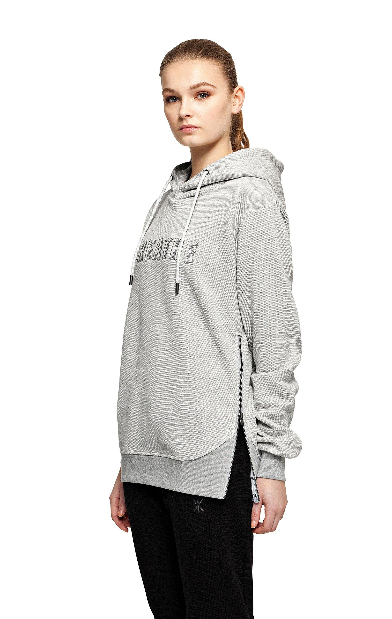 P ho15002 Sweat CapucheGrisnature À Femme Onepiece One Piece FabricantXs MelangeTaille shirt CxedoBr
