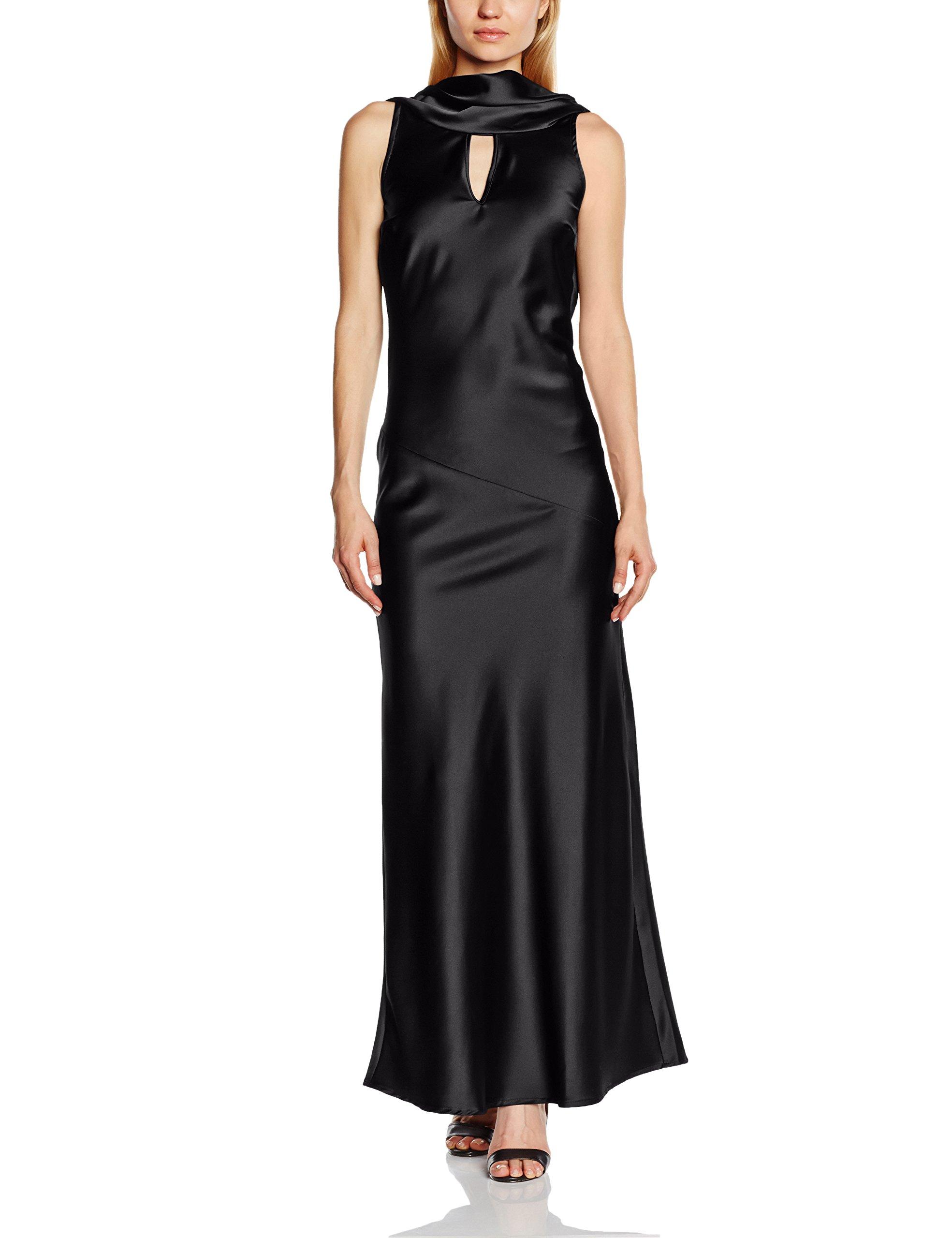 Cowl Fabricant14 NeckRobe Hotsquash Sans Noir 42taille Silky Femme Soirée Manche Tl3KcF1J