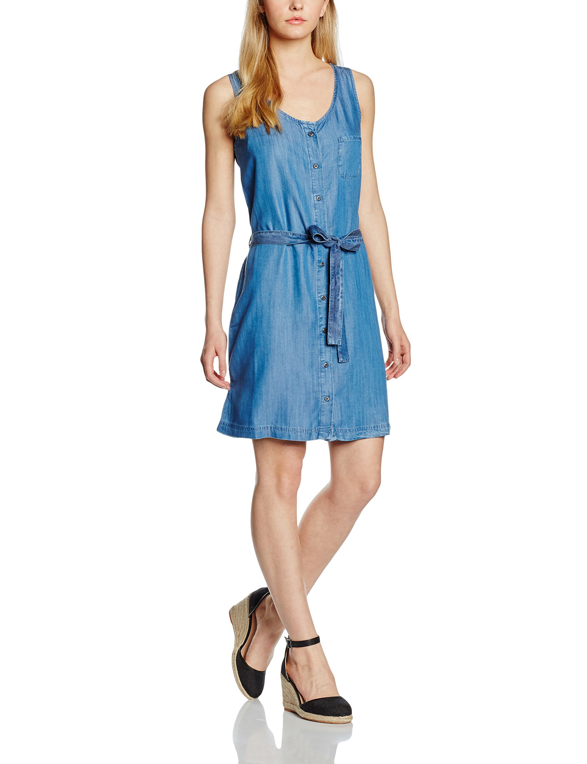 00540taille Cross Blue FabricantL FemmeBleumid Denim Jeans DressRobe hdsCQtr