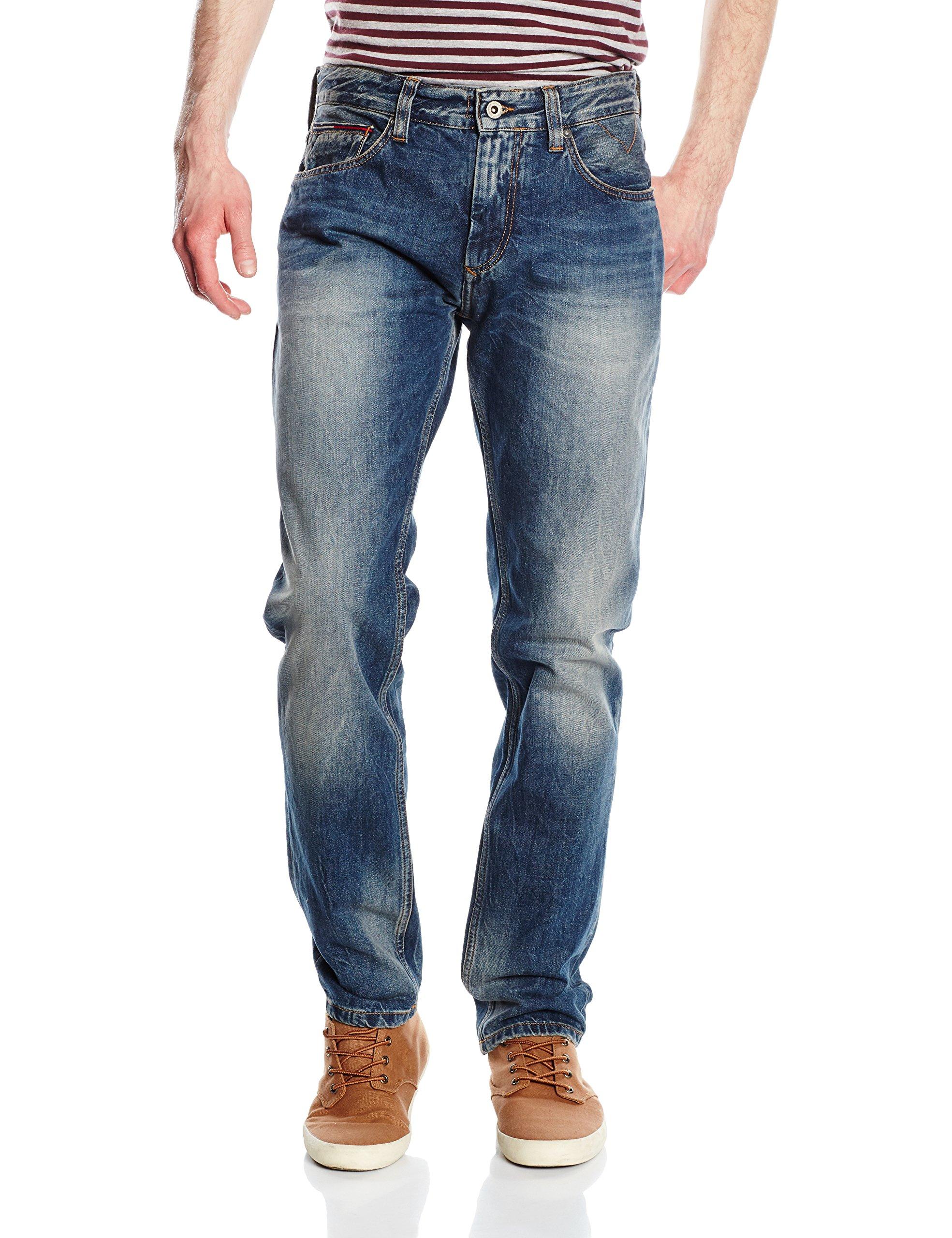 PebJean penrose l34 Denim Jeans Hilfiger Tapered Tommy Original Ronnie BlueW28 HommeBleu v8nm0NwO