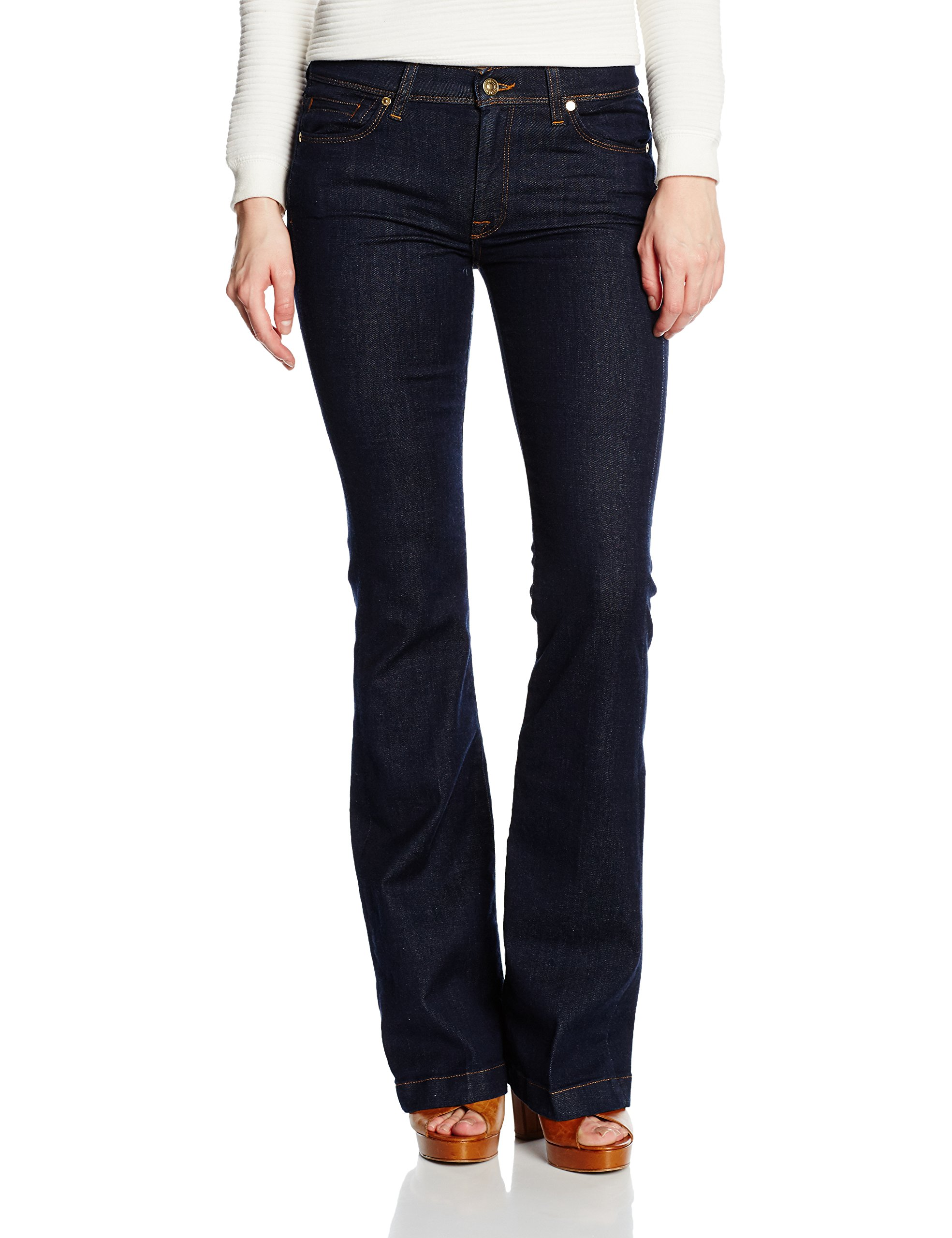 CharlizeJeans aRinsed l35taille All Mankind IndigoW27 Fabricant27 7 FemmeBleul For YI7vm6ygbf
