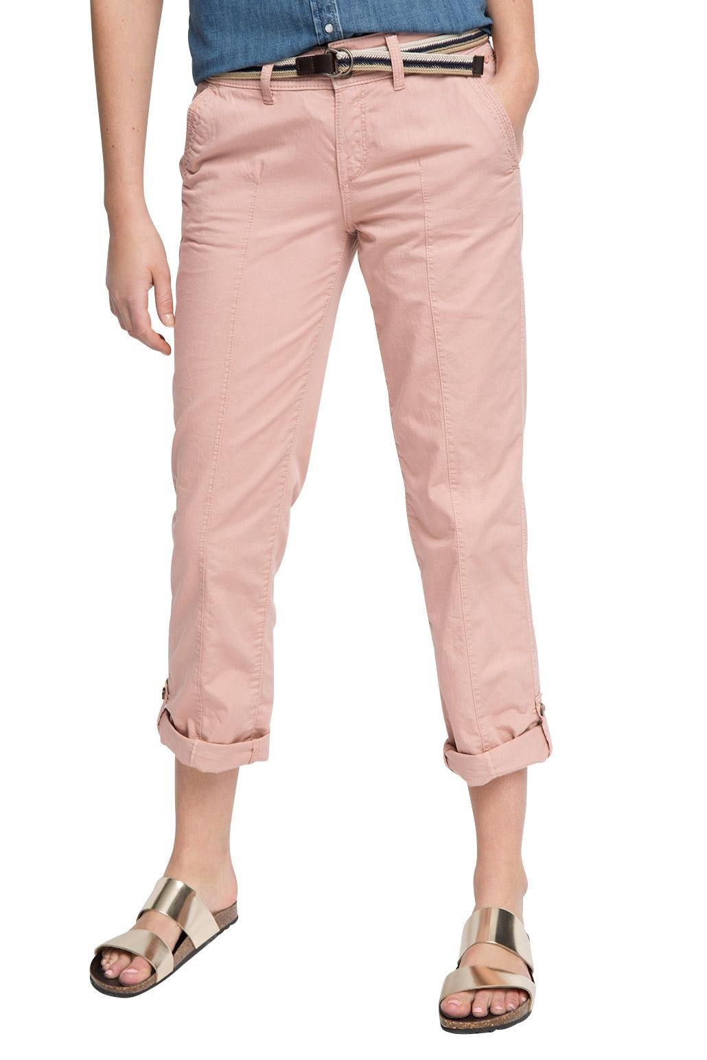 680W38 l30 Rose Femme belt rosaold Pink 046ee1b025 Pantalon Esprit ZOPuTwXik