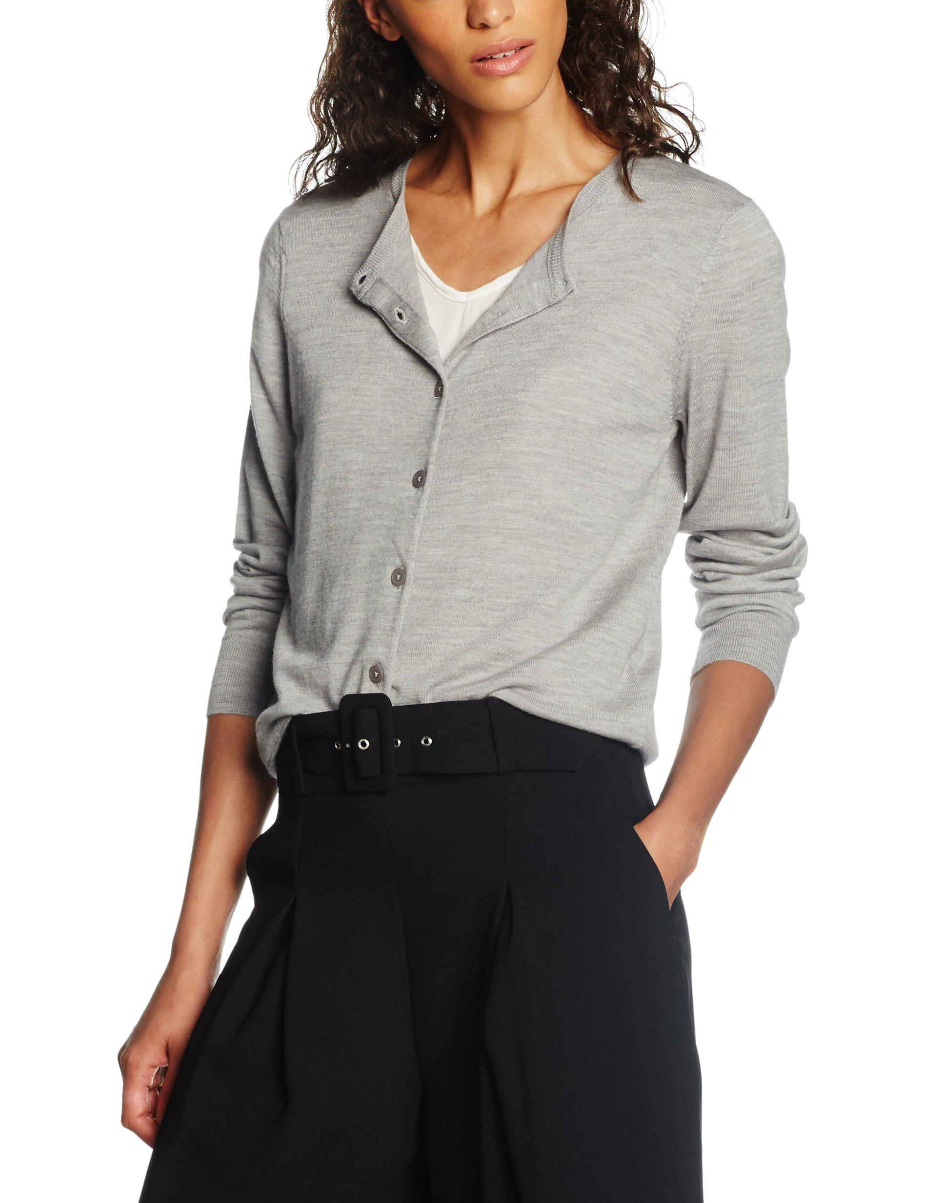 CardiGilet large GreyX Short K FemmeGrislight Filippa Merino jL54R3Aq
