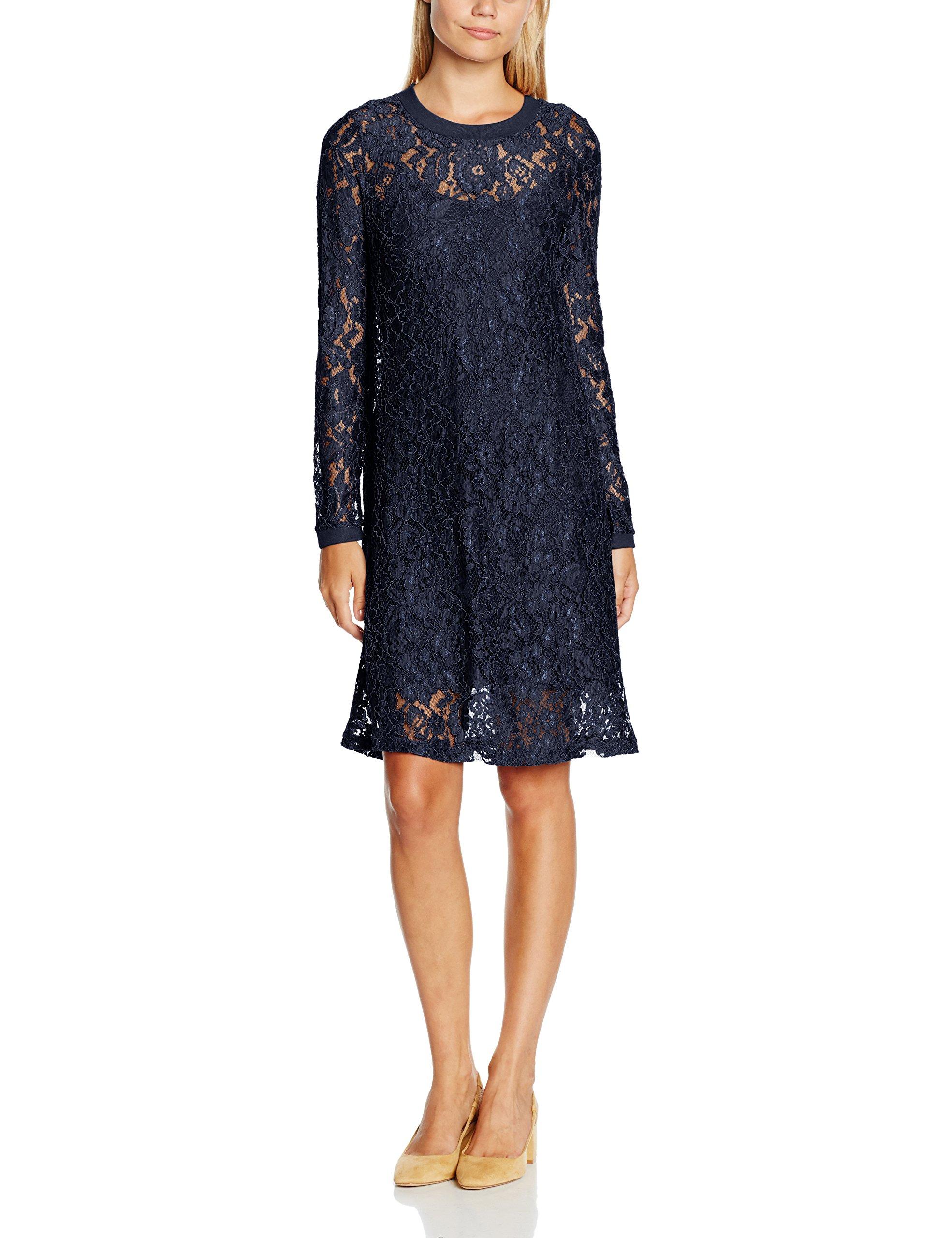 Dress Bleucaptain Bianca NavyMedium Femme Cream Robe xBoedC