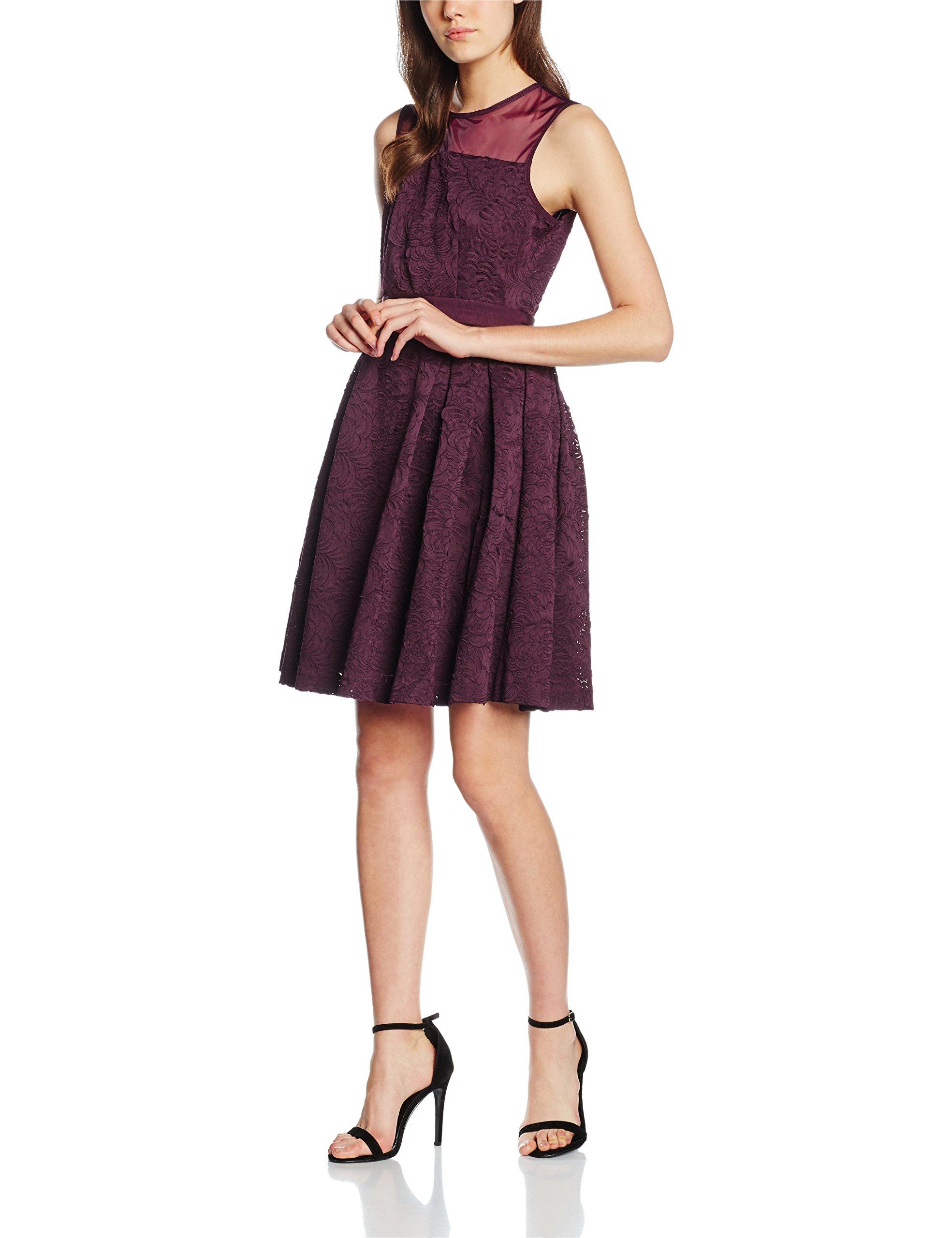 Femme London RobeVioletdamson40 Darling Dress Claris 0ymN8nOvw