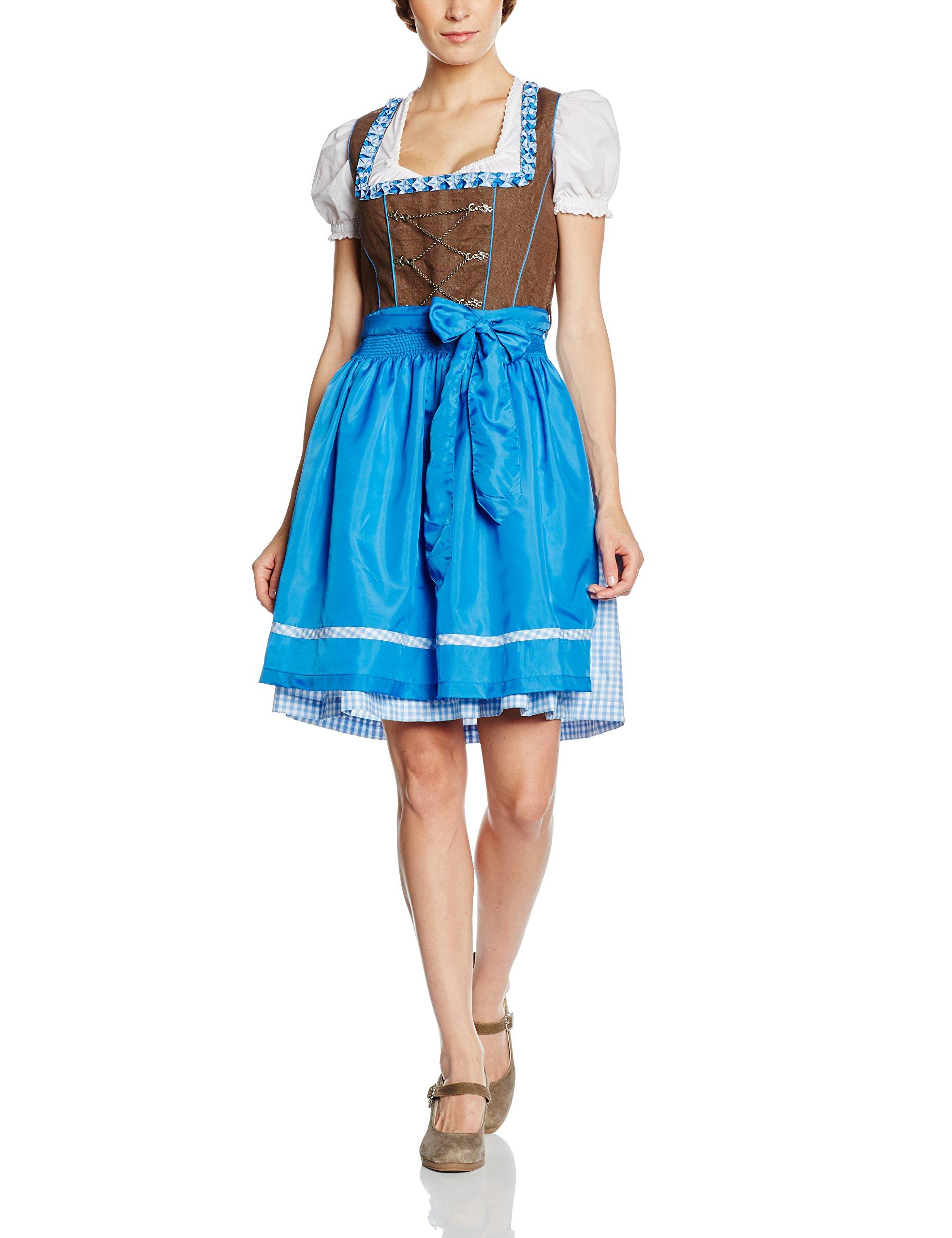 blue42 Rißberg Jcc16006amz Von Femme DirndlMulticoloregrey ID9HYEW2