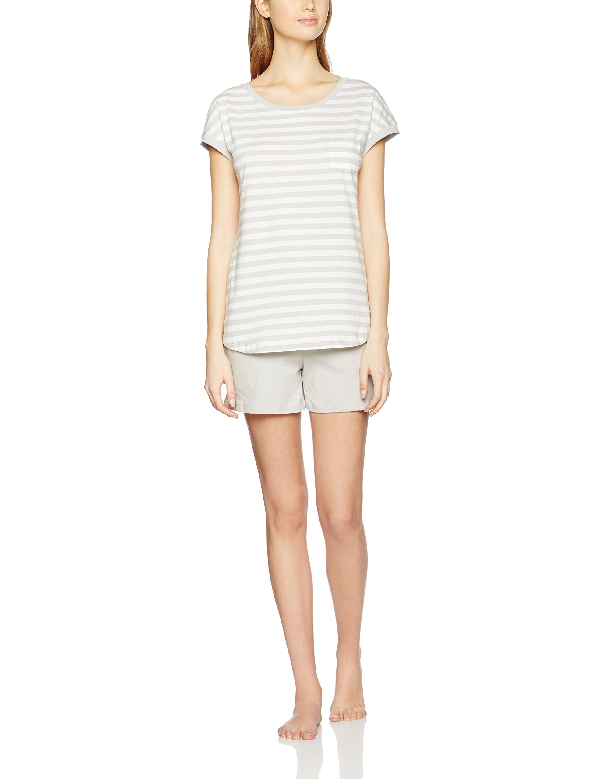 Crew Ensemble O'polo Marc De Femme 20442 Bodyamp; Beach neck PyjamaGrishellgrau CWrxBdoe
